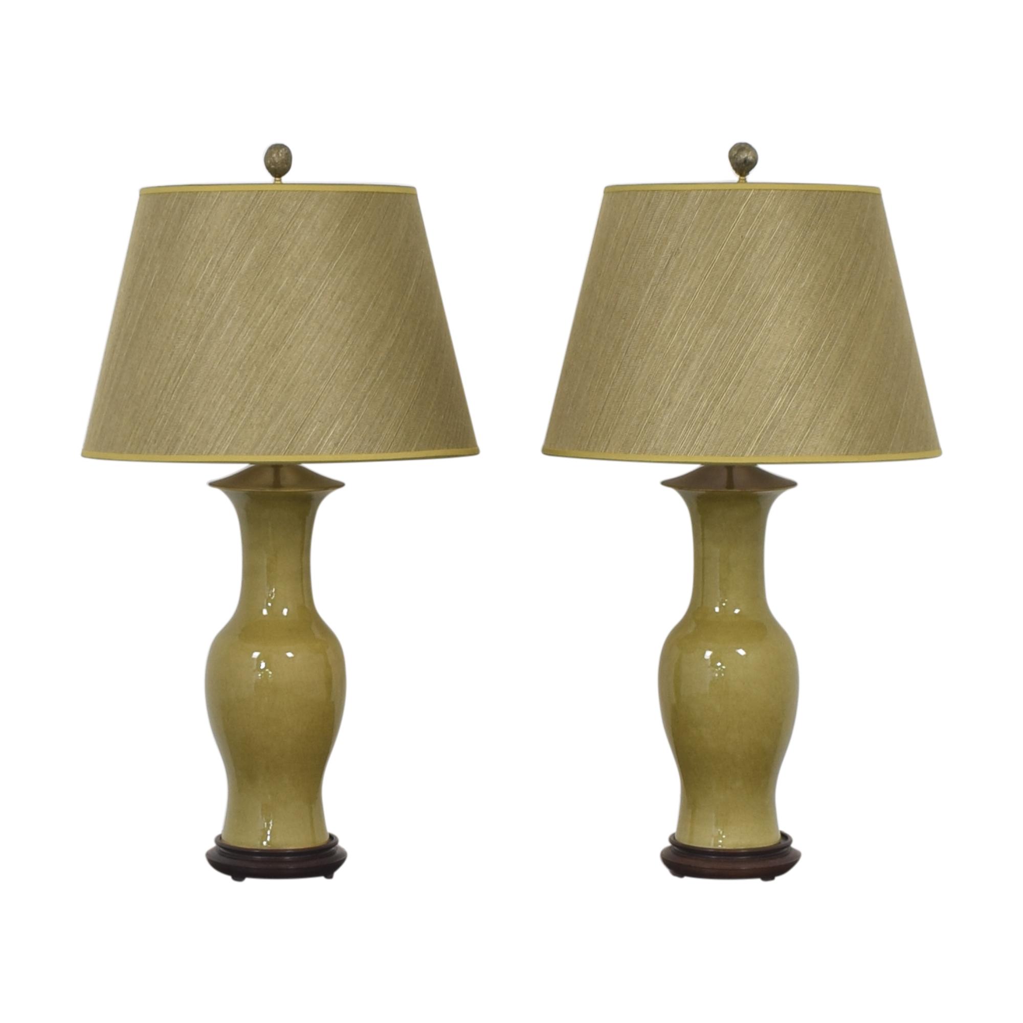 Warren Kessler Warren Kessler Urn Table Lamps Lamps