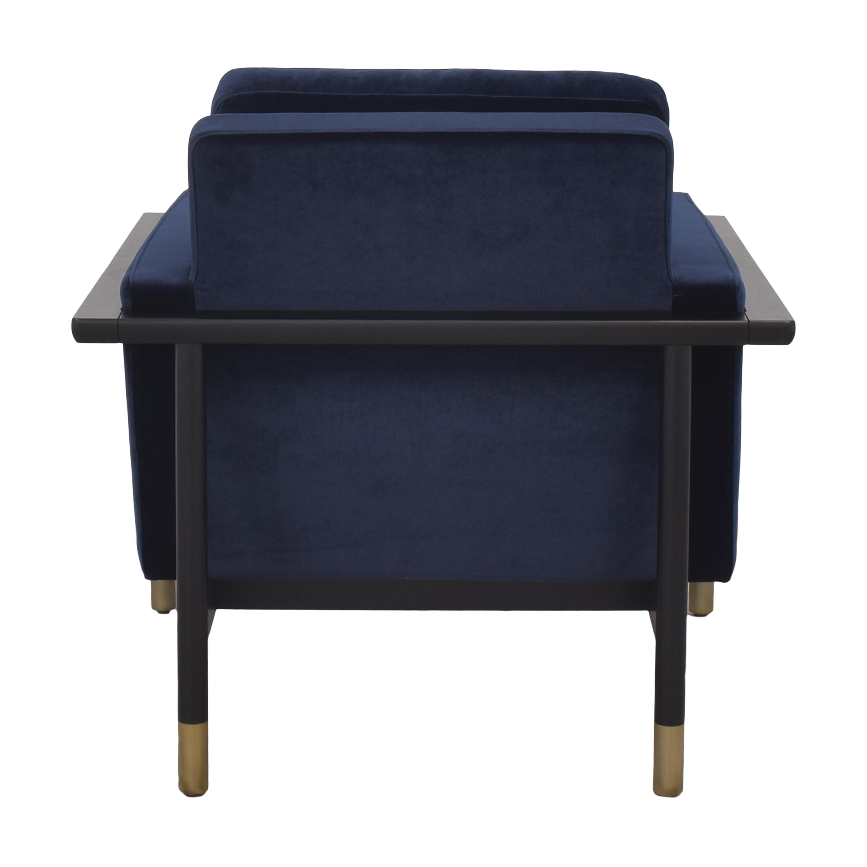 Interior Define Interior Define Jason Wu Accent Chair blue and gray