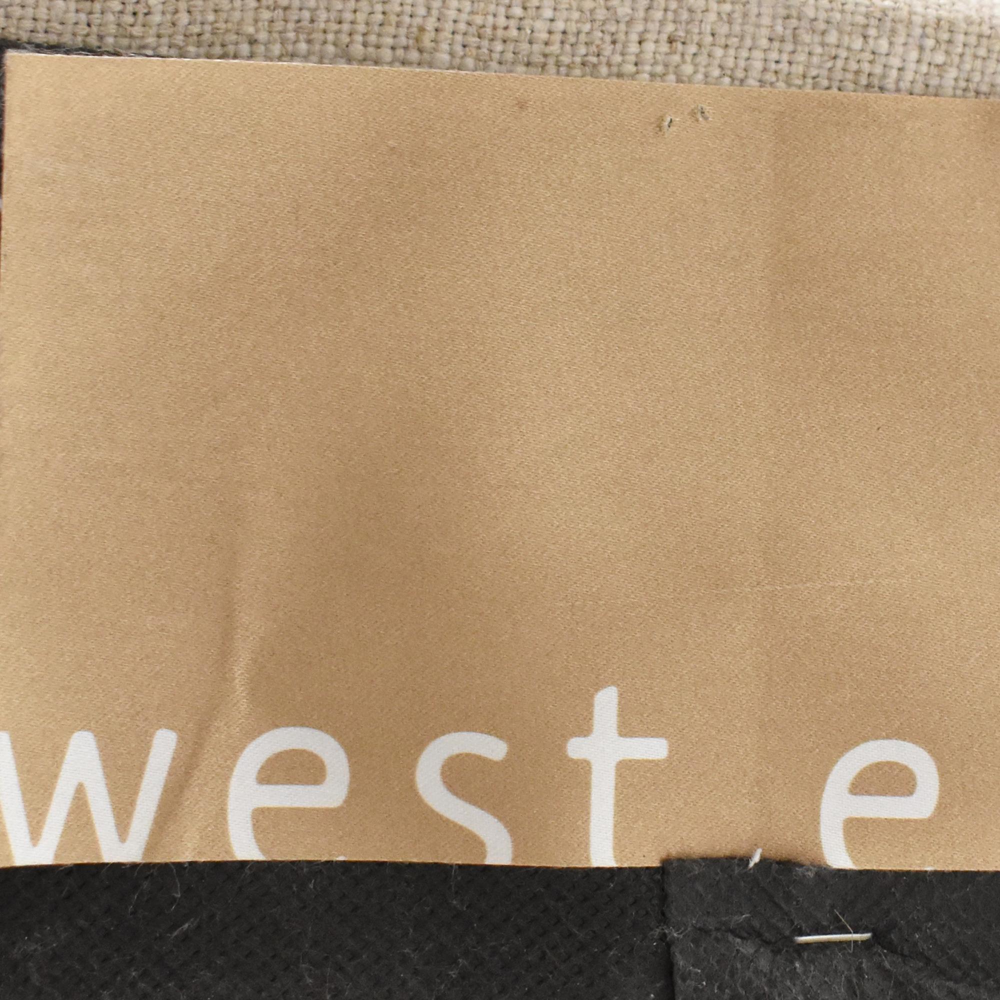 buy West Elm Grid Tufted Tall Queen Headboard West Elm Beds