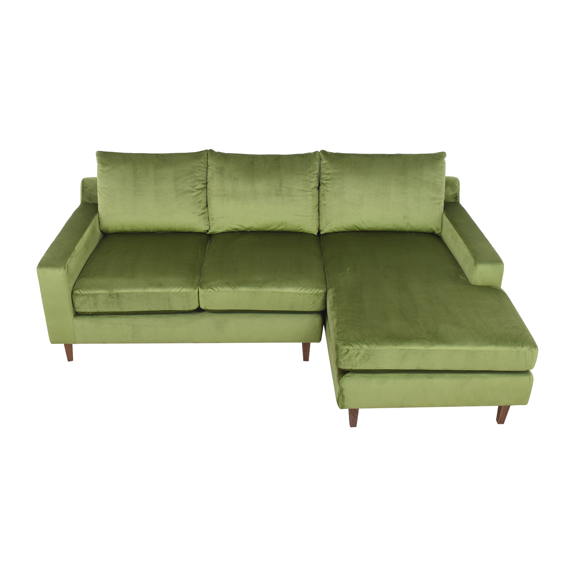 Interior Define Interior Define Sloan Sectional Sofa with Chaise ct