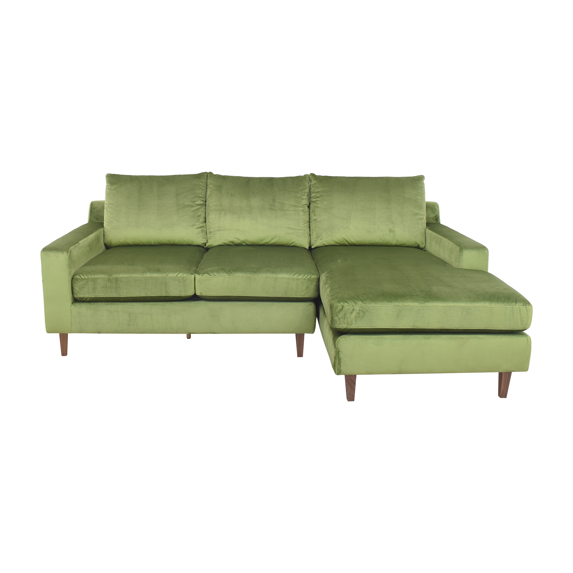 Interior Define Interior Define Sloan Sectional Sofa with Chaise ma