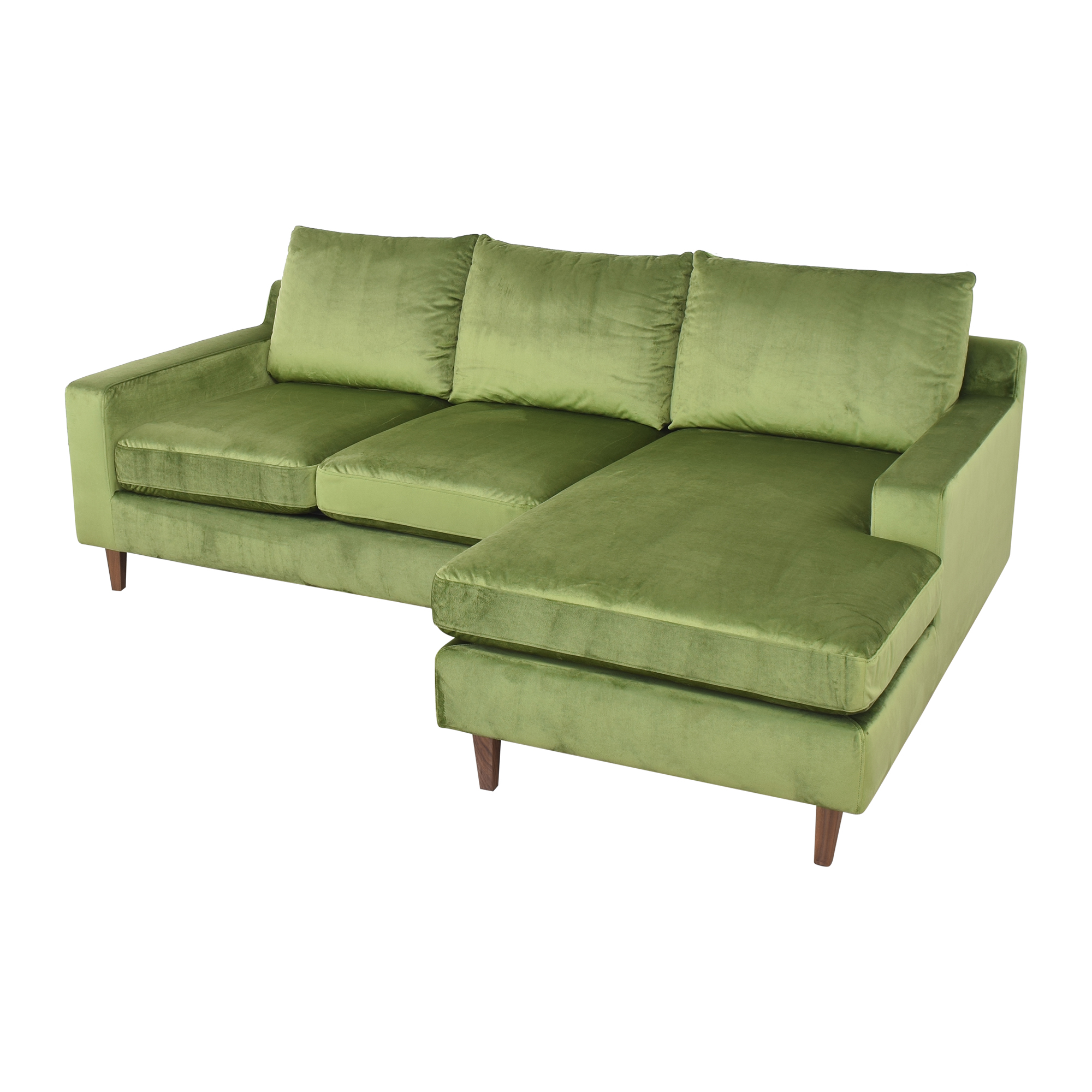 buy Interior Define Sloan Sectional Sofa with Chaise Interior Define Sofas