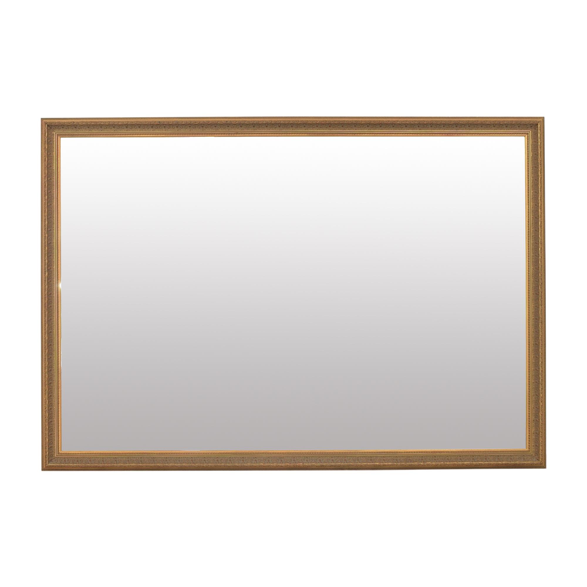 buy  Large Ornate Rectangular Mirror online