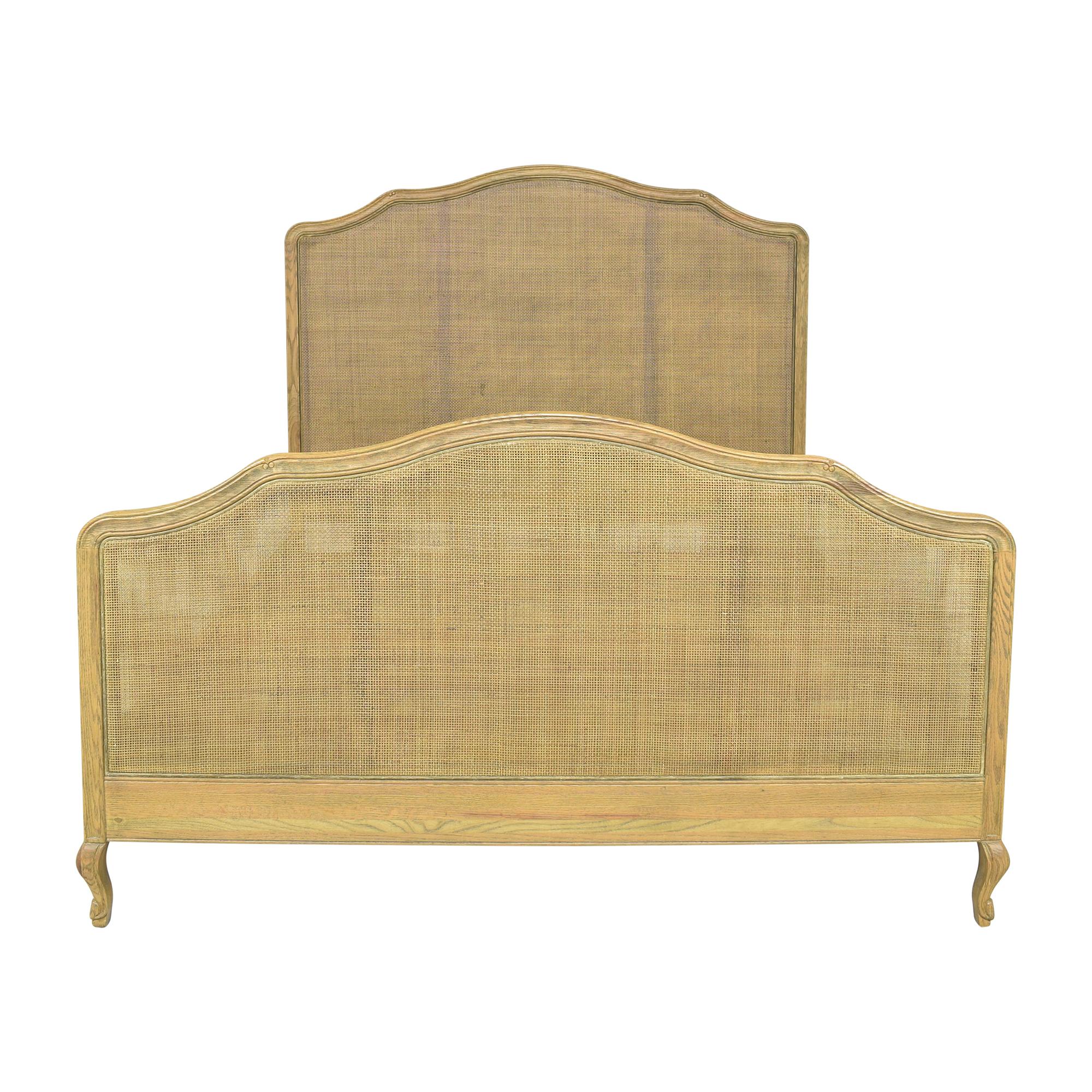 shop Restoration Hardware Lorraine Caned Queen Bed Restoration Hardware Bed Frames