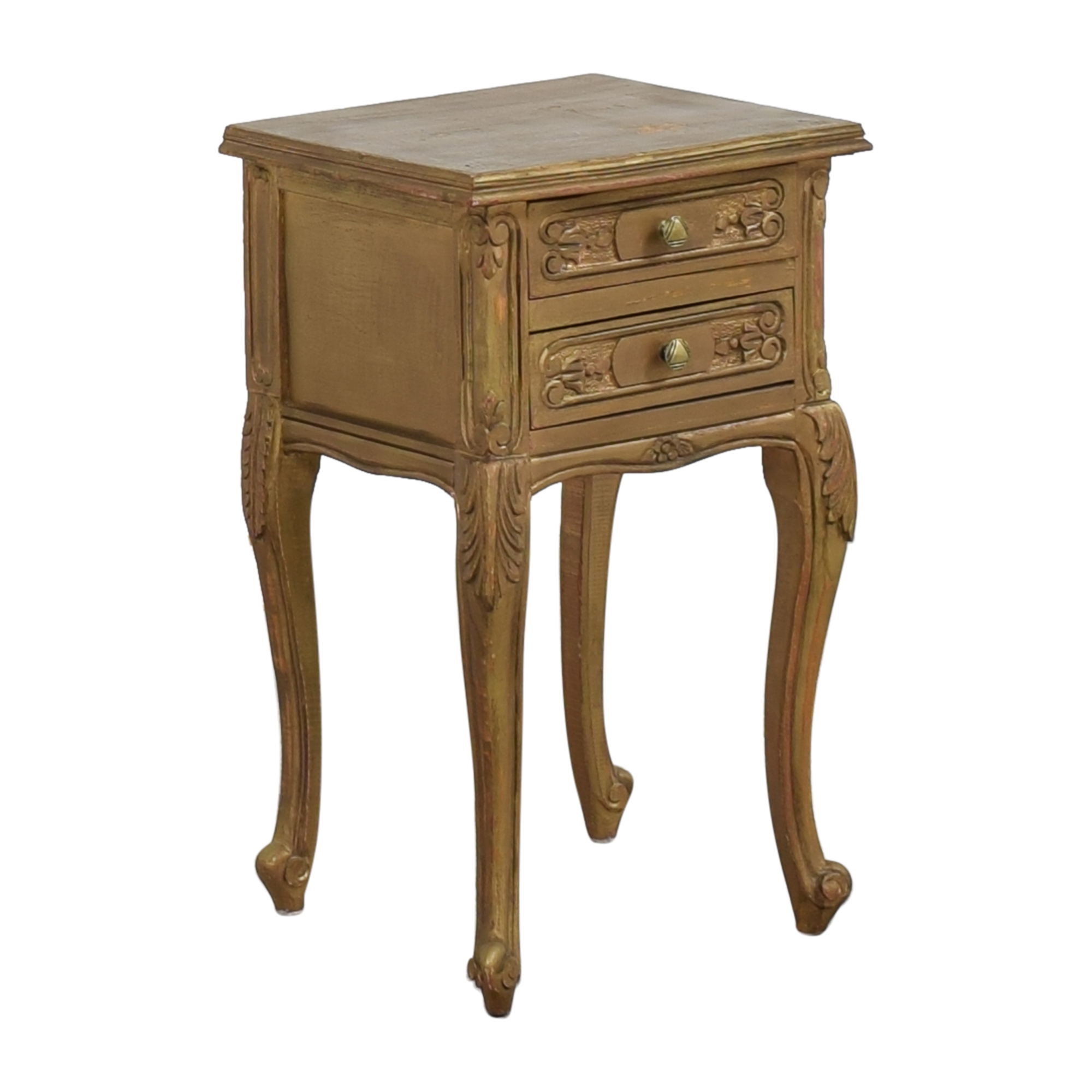 Restoration Hardware Restoration Hardware Two Drawer Side Table Tables