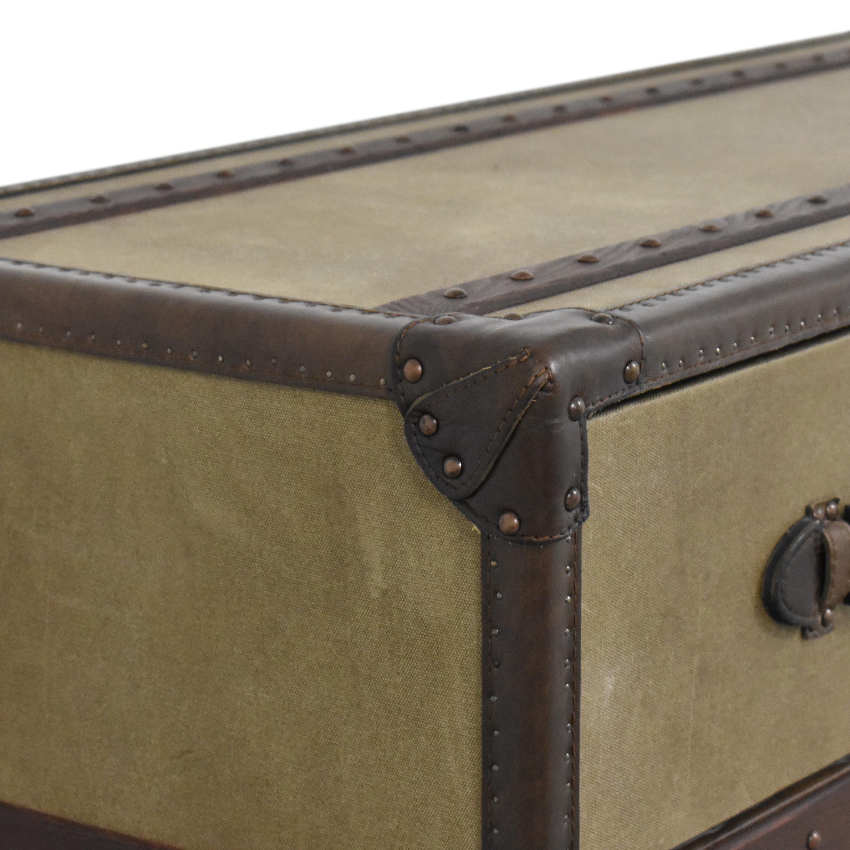 Restoration Hardware Voyager Steamer Dresser / Dressers