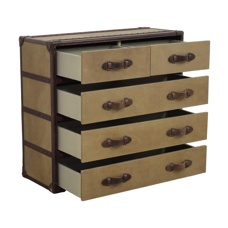 shop Restoration Hardware Voyager Steamer Dresser Restoration Hardware Dressers