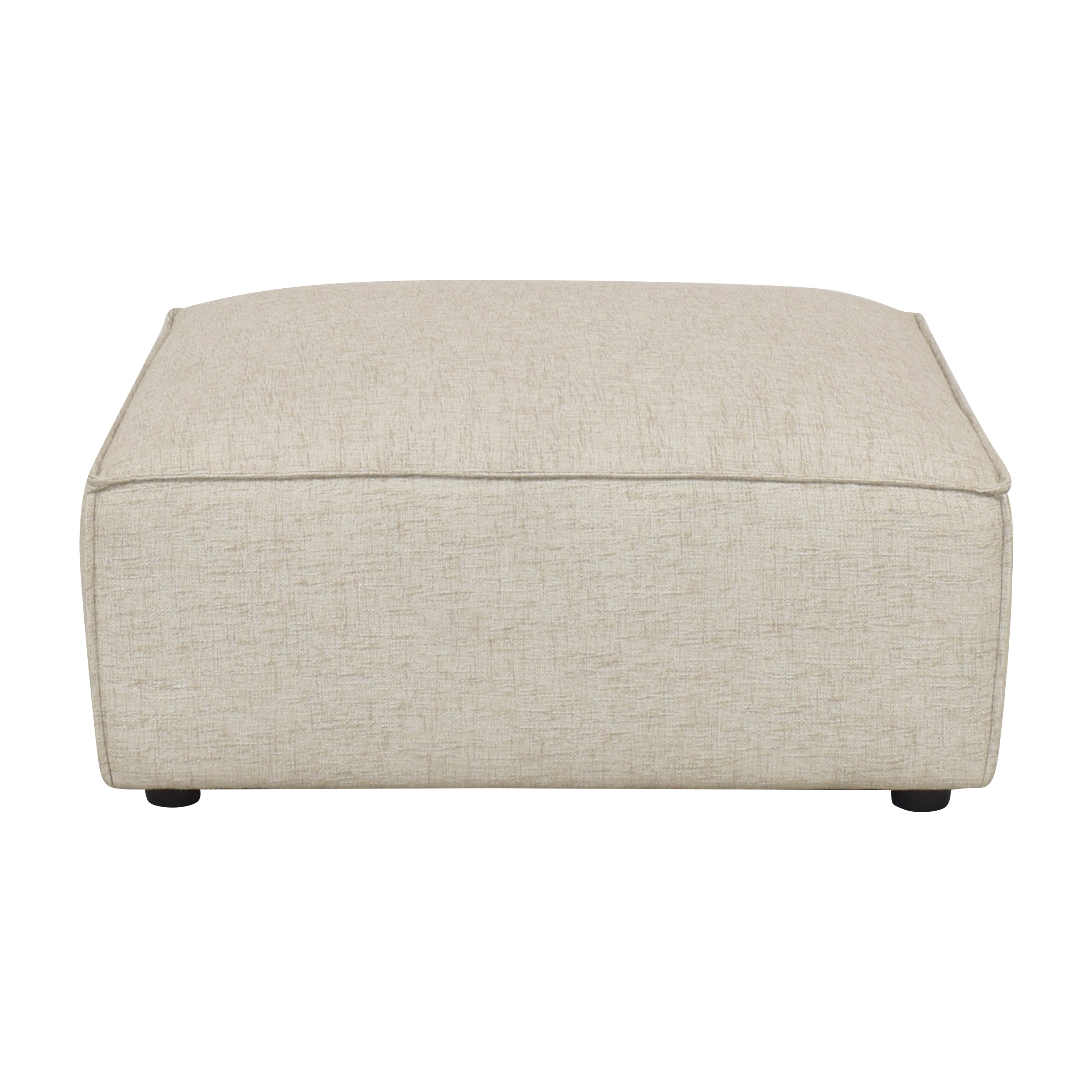 buy Interior Define Gray Ottoman Interior Define Ottomans