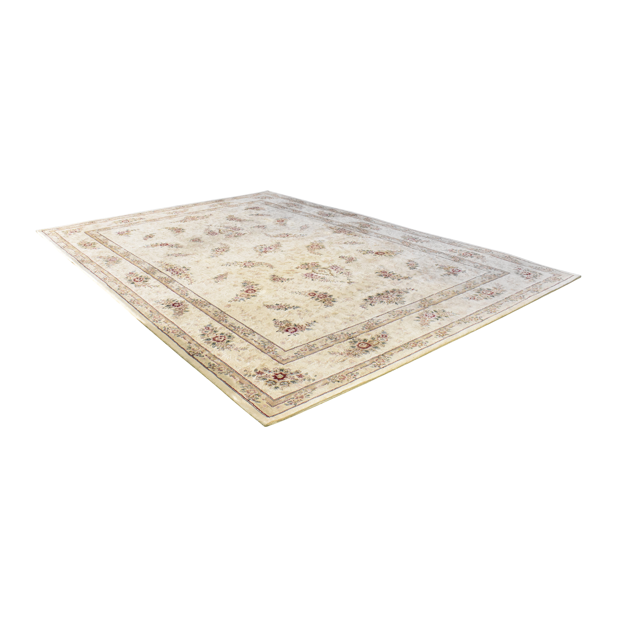 Floral Pattern Area Rug nyc