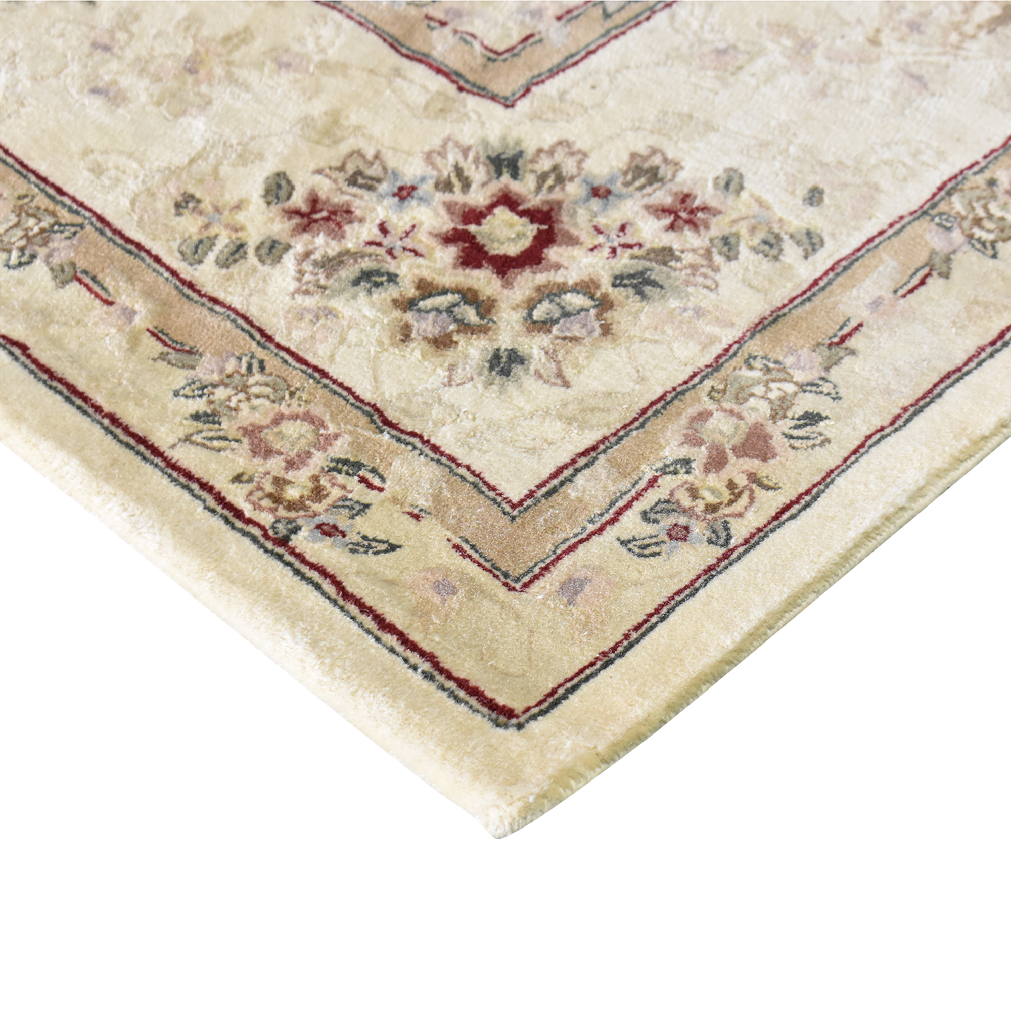Floral Pattern Area Rug