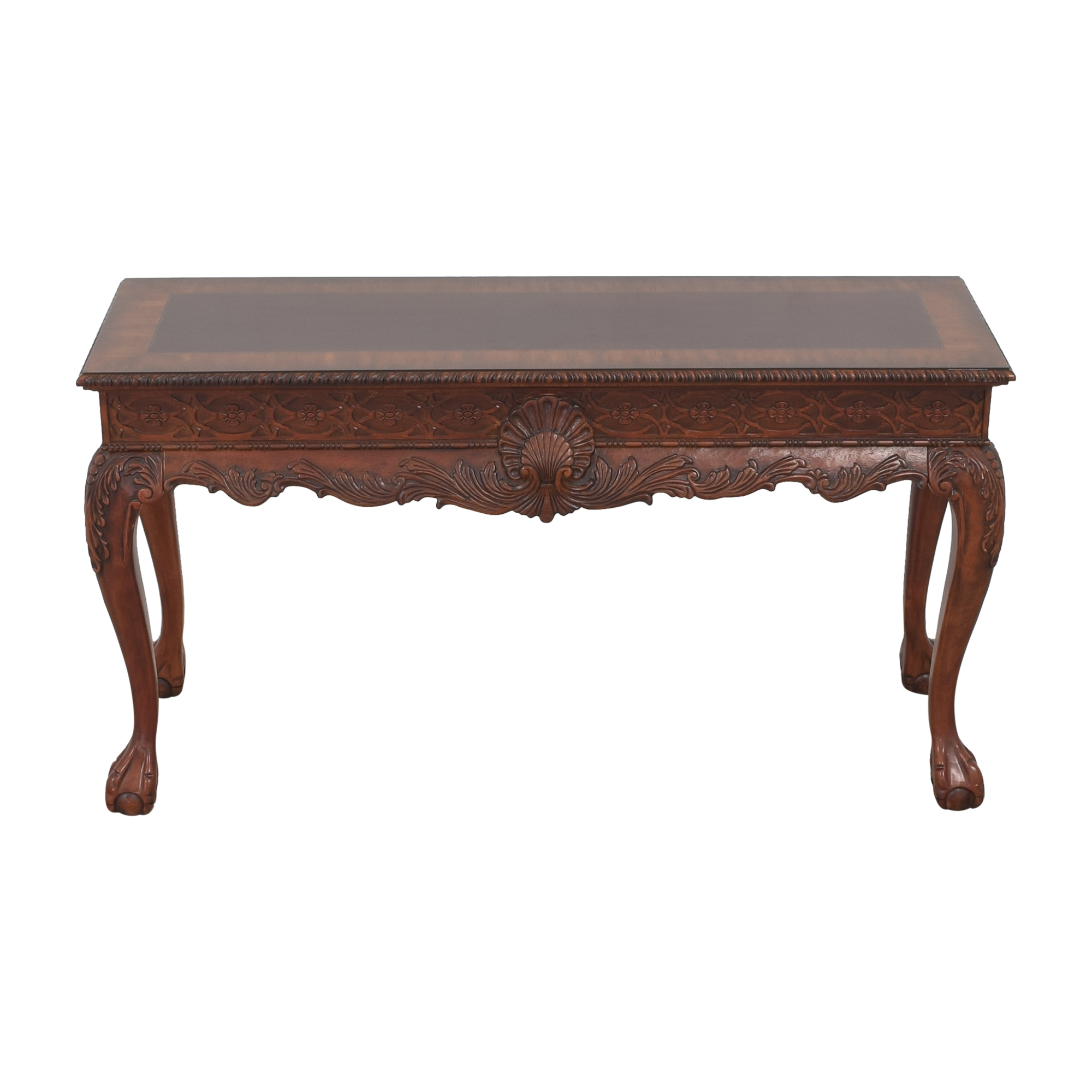 Macy's Carved Accent Table / Accent Tables