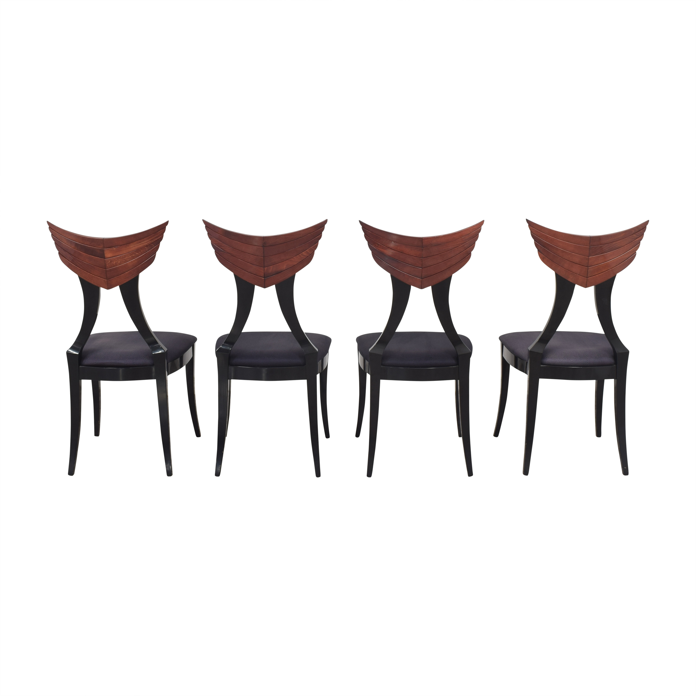 shop Pietro Constantini for Ello Klismos Dining Chairs Ello Furniture Chairs