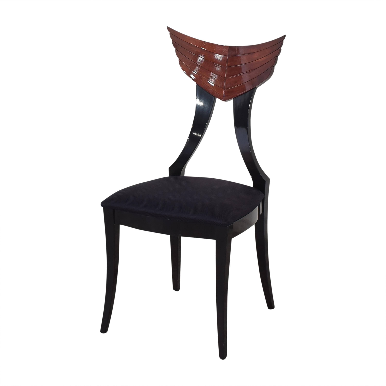 Ello Furniture Pietro Constantini for Ello Klismos Dining Chairs Chairs