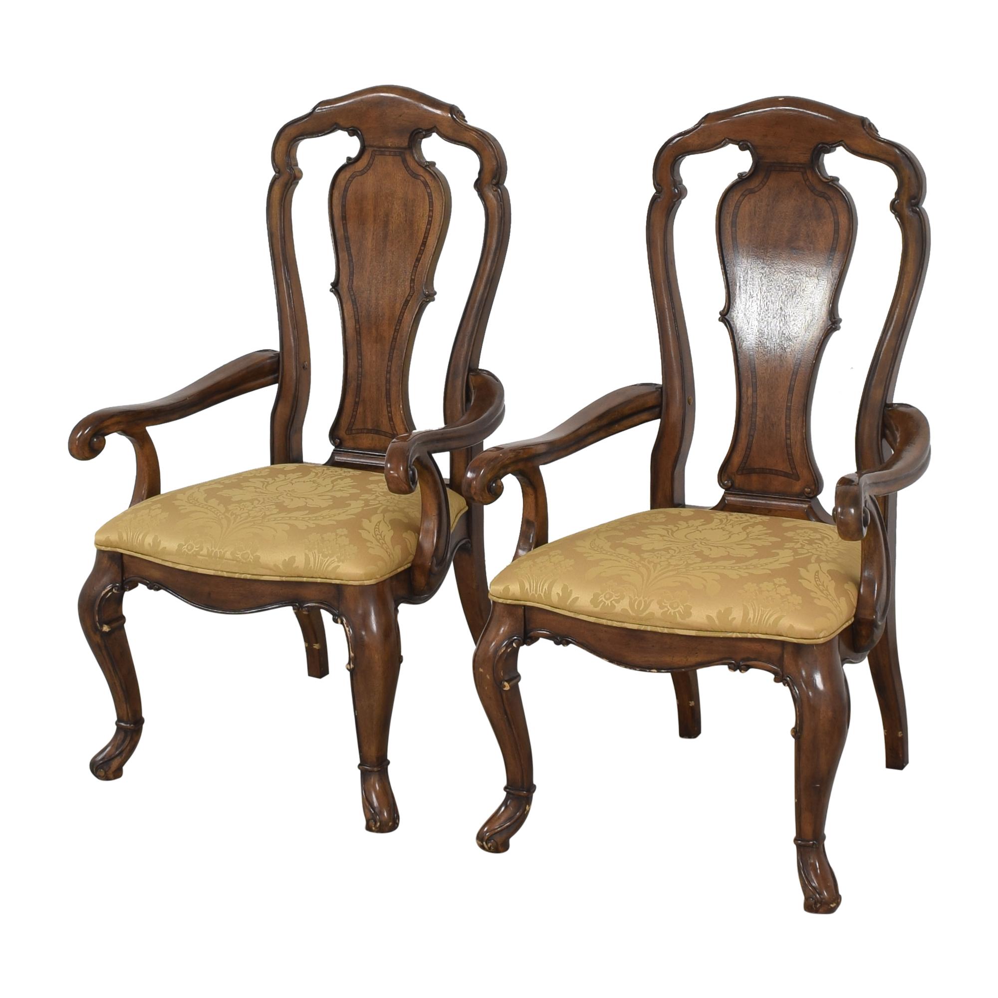 buy Thomasville Ernest Hemingway Granada Dining Arm Chairs Thomasville Dining Chairs