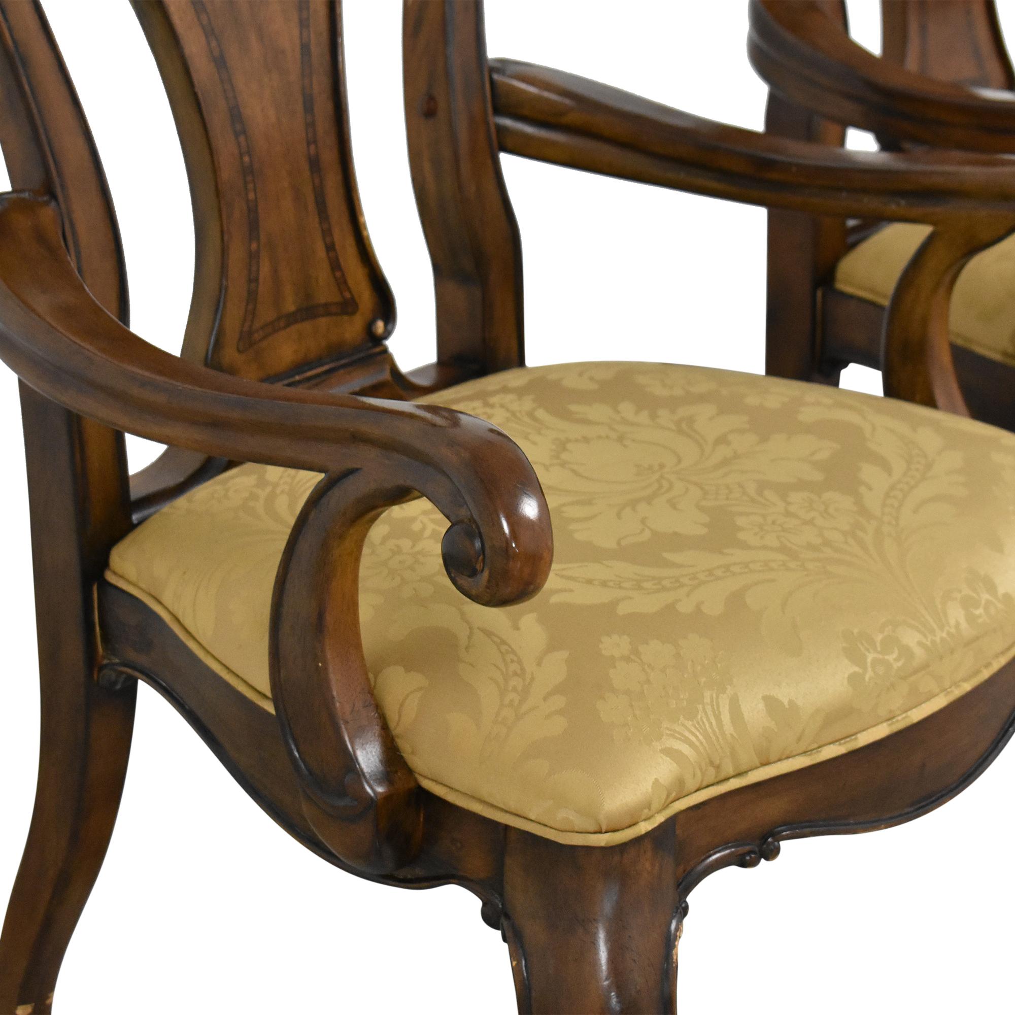 Thomasville Thomasville Ernest Hemingway Granada Dining Arm Chairs second hand
