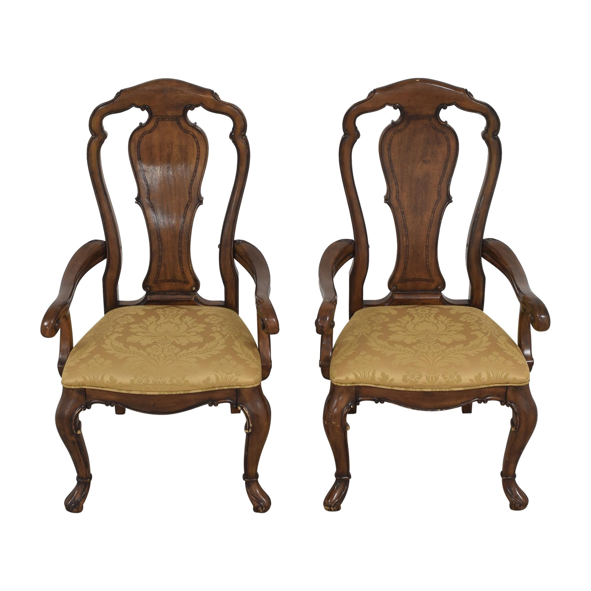 buy Thomasville Ernest Hemingway Granada Dining Arm Chairs Thomasville