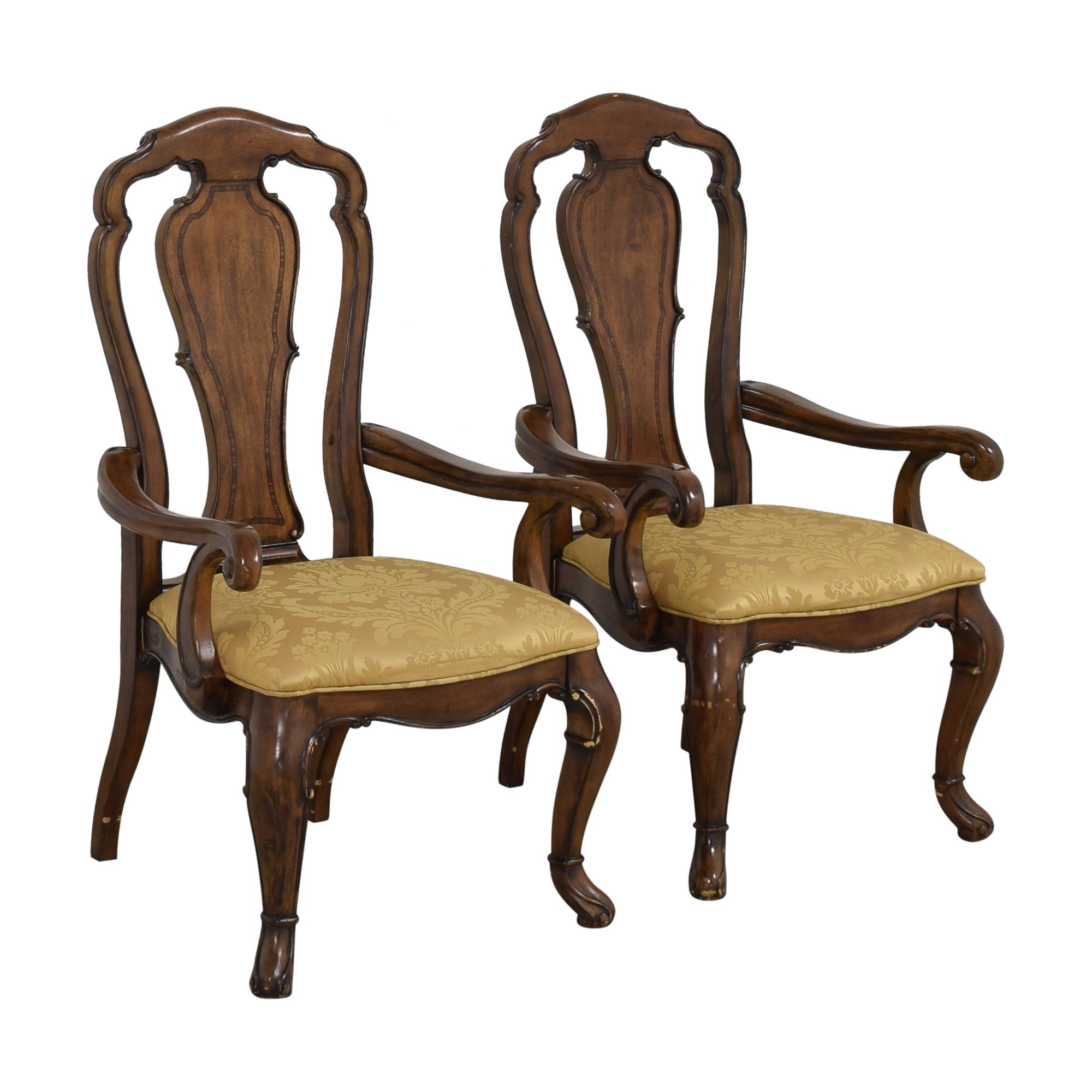 buy Thomasville Thomasville Ernest Hemingway Granada Dining Arm Chairs online