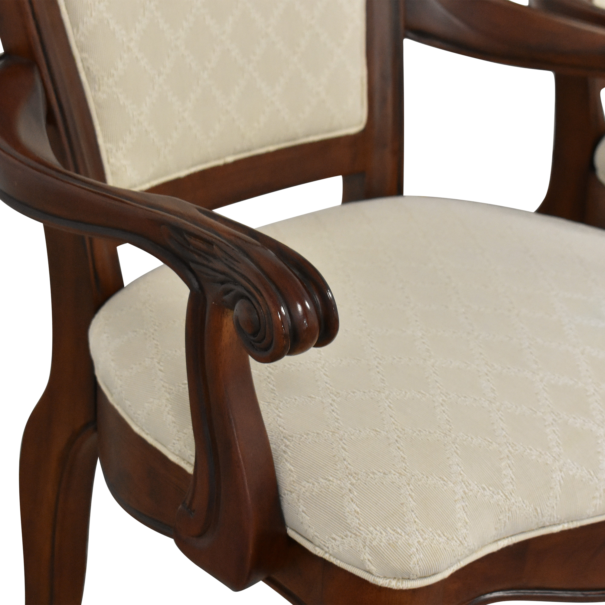 American Drew American Drew Upholstered Dining Arm Chairs Dining Chairs