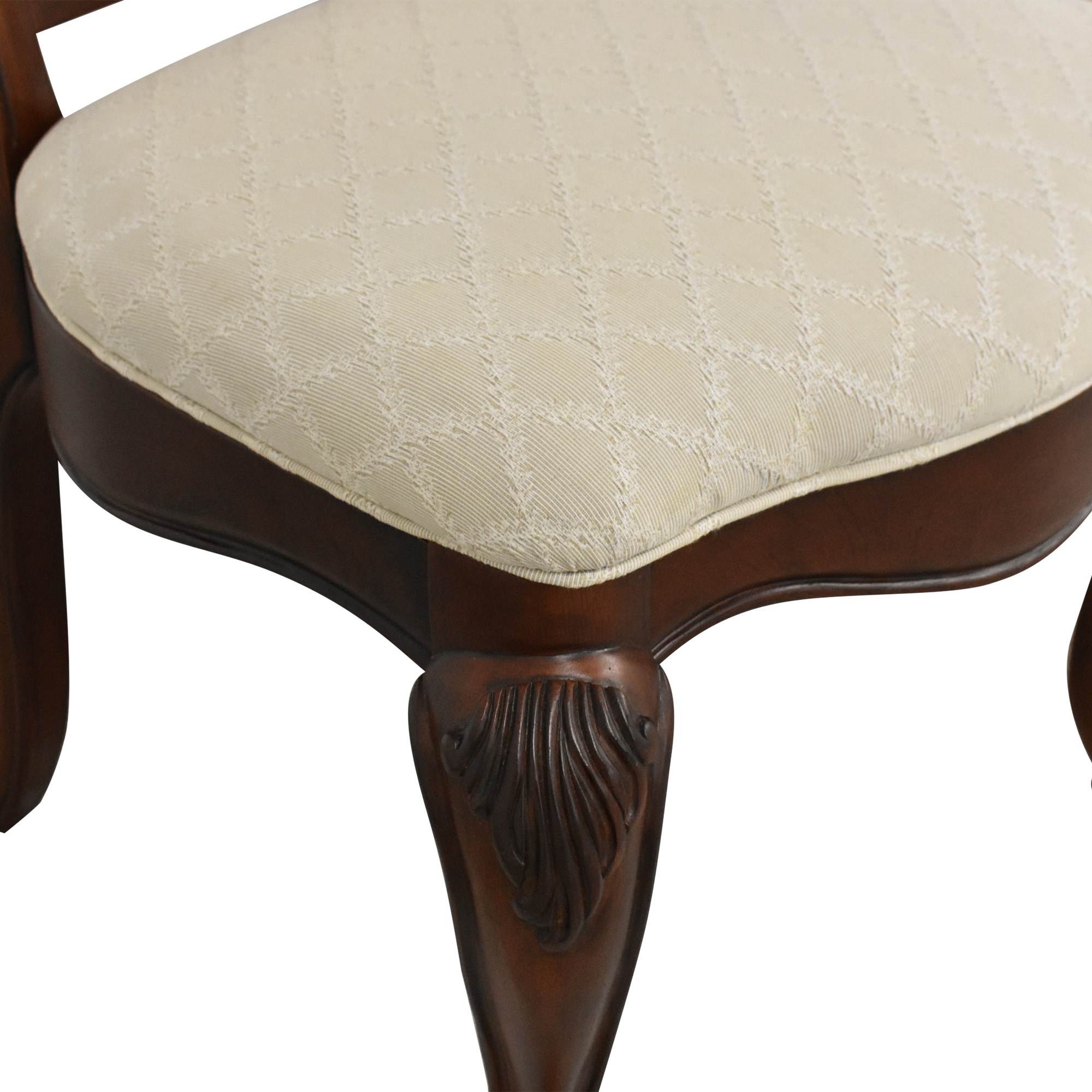 American Drew American Drew Upholstered Dining Chairs brown & beige