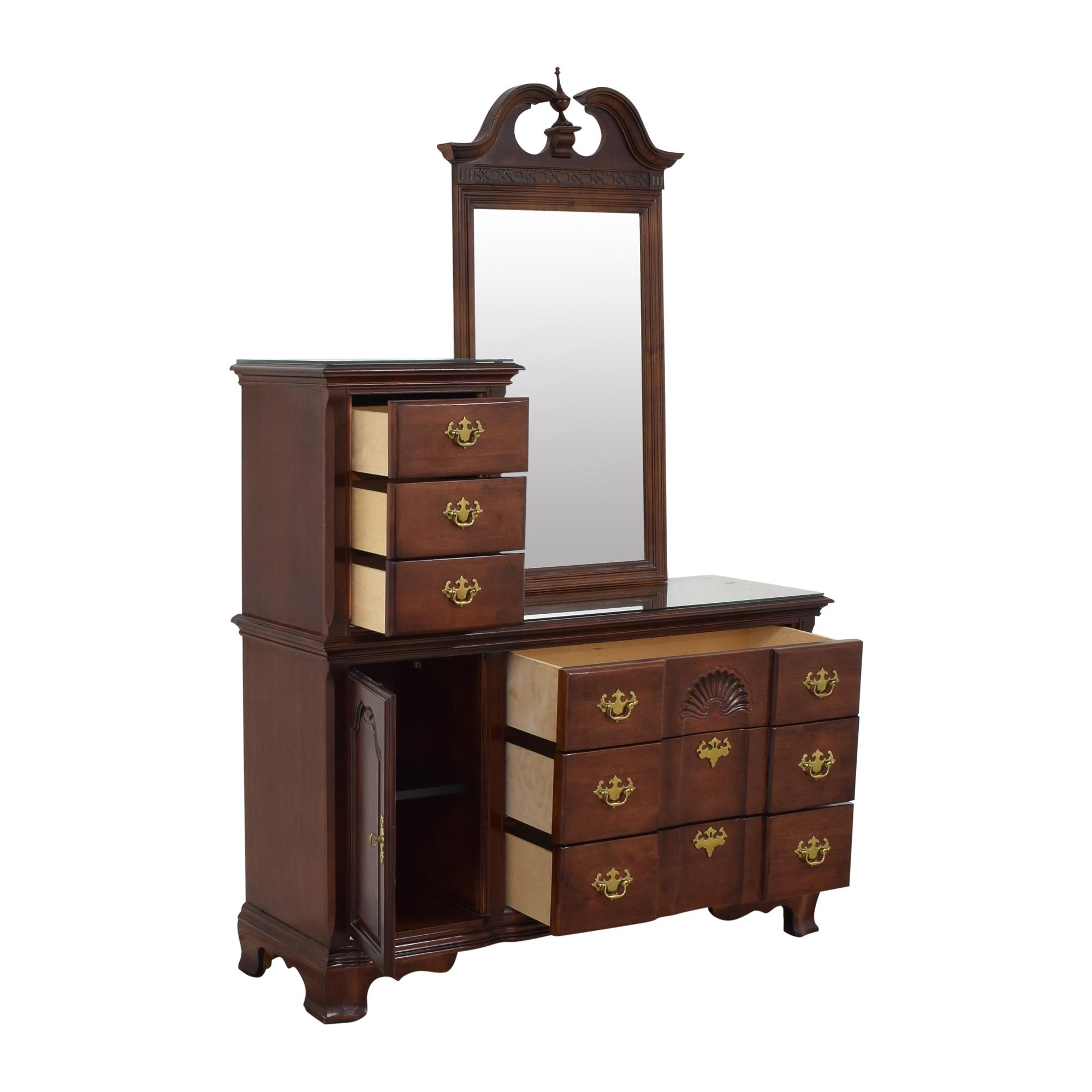 buy Universal Furniture Door Dresser with Mirror Universal Furniture Dressers