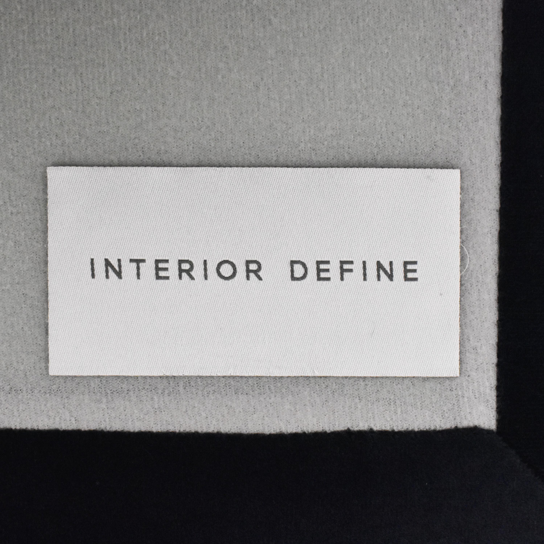 buy Interior Define Owens Ottoman Interior Define Chairs