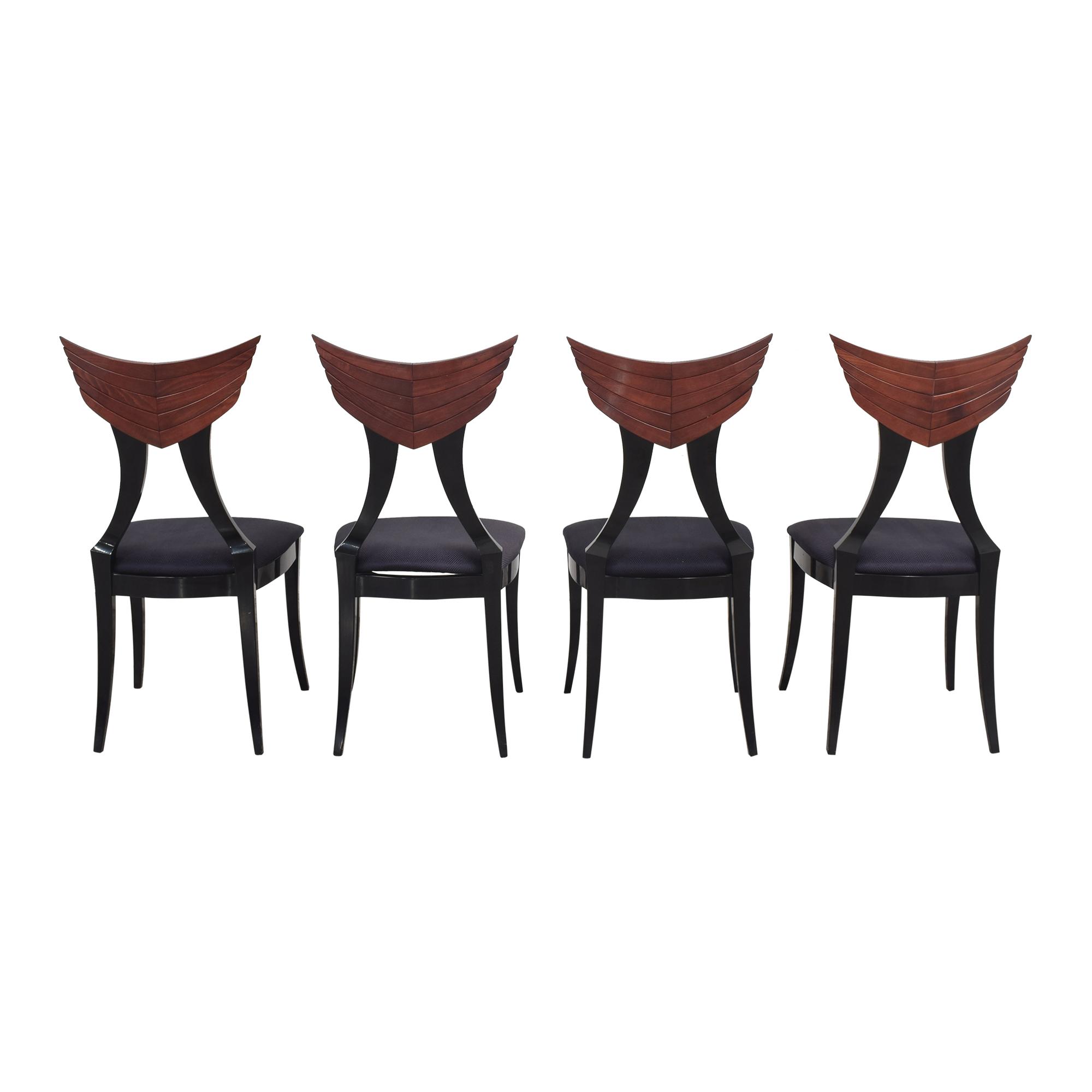 Pietro Constantini for Ello Klismos Dining Chairs Ello Furniture