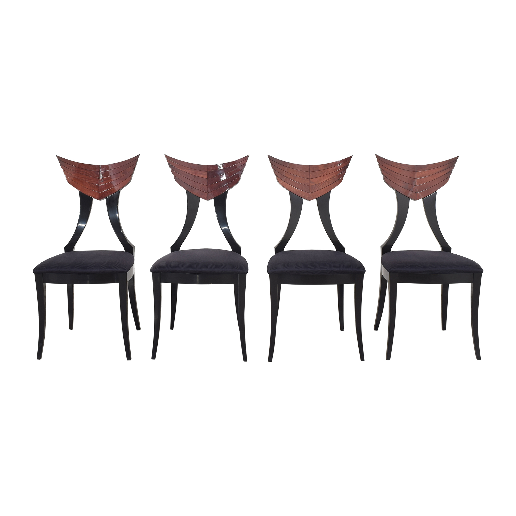Ello Furniture Pietro Constantini for Ello Klismos Dining Chairs Dining Chairs