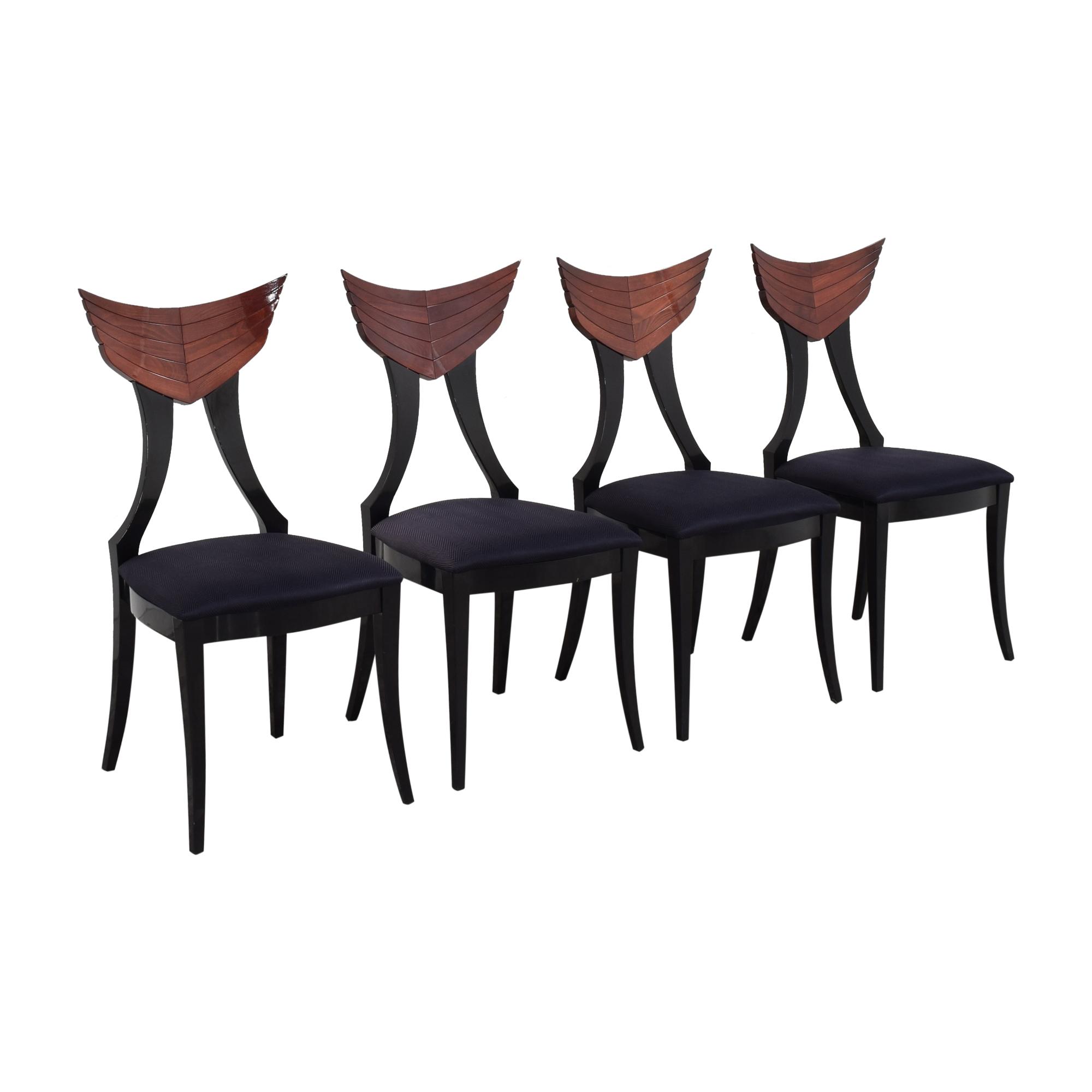 Ello Furniture Pietro Constantini for Ello Klismos Dining Chairs dimensions