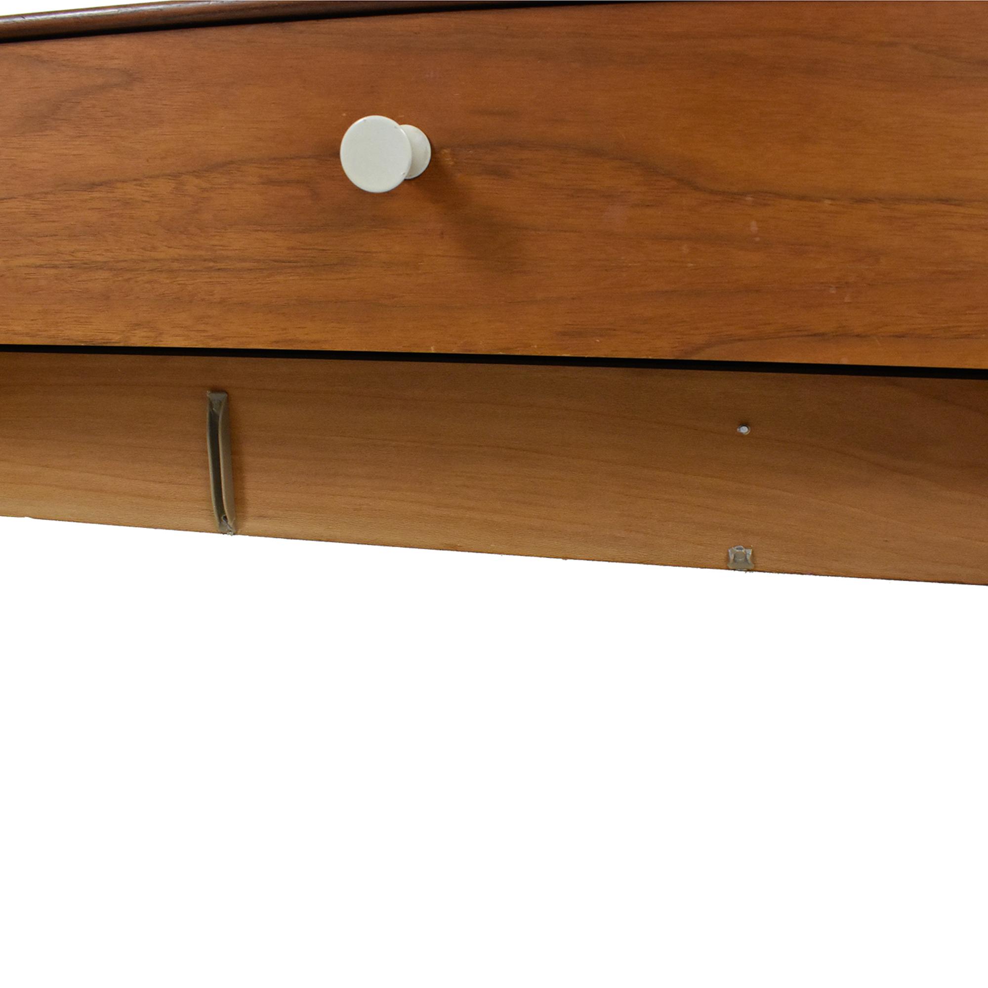 buy Herman Miller George Nelson Thin Edge Double Dresser Herman Miller Storage