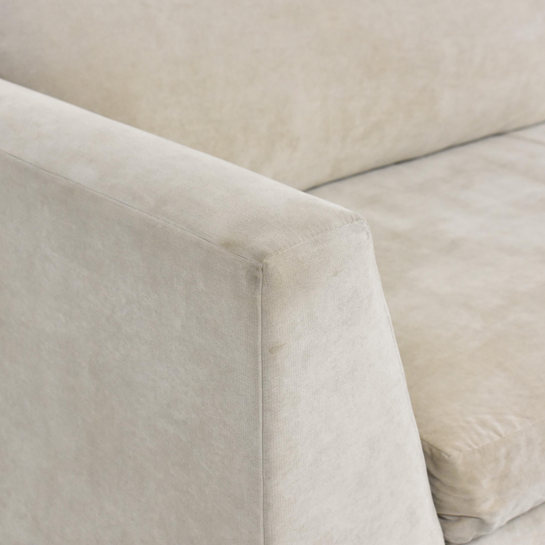 ABC Carpet & Home ABC Carpet & Home Cobble Hill Oxford Sectional Sofa pa