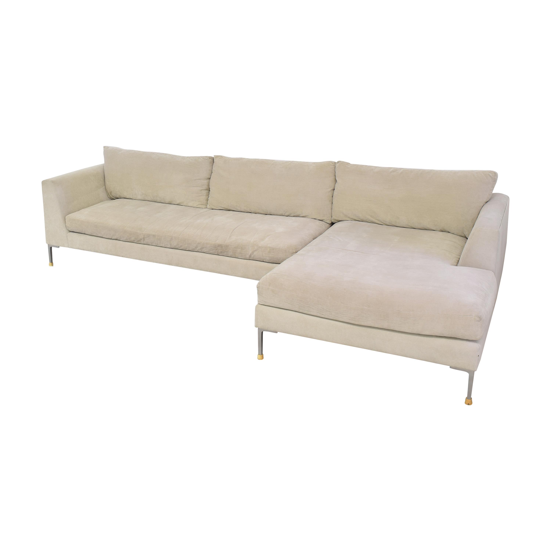 shop ABC Carpet & Home Cobble Hill Oxford Sectional Sofa ABC Carpet & Home Sectionals