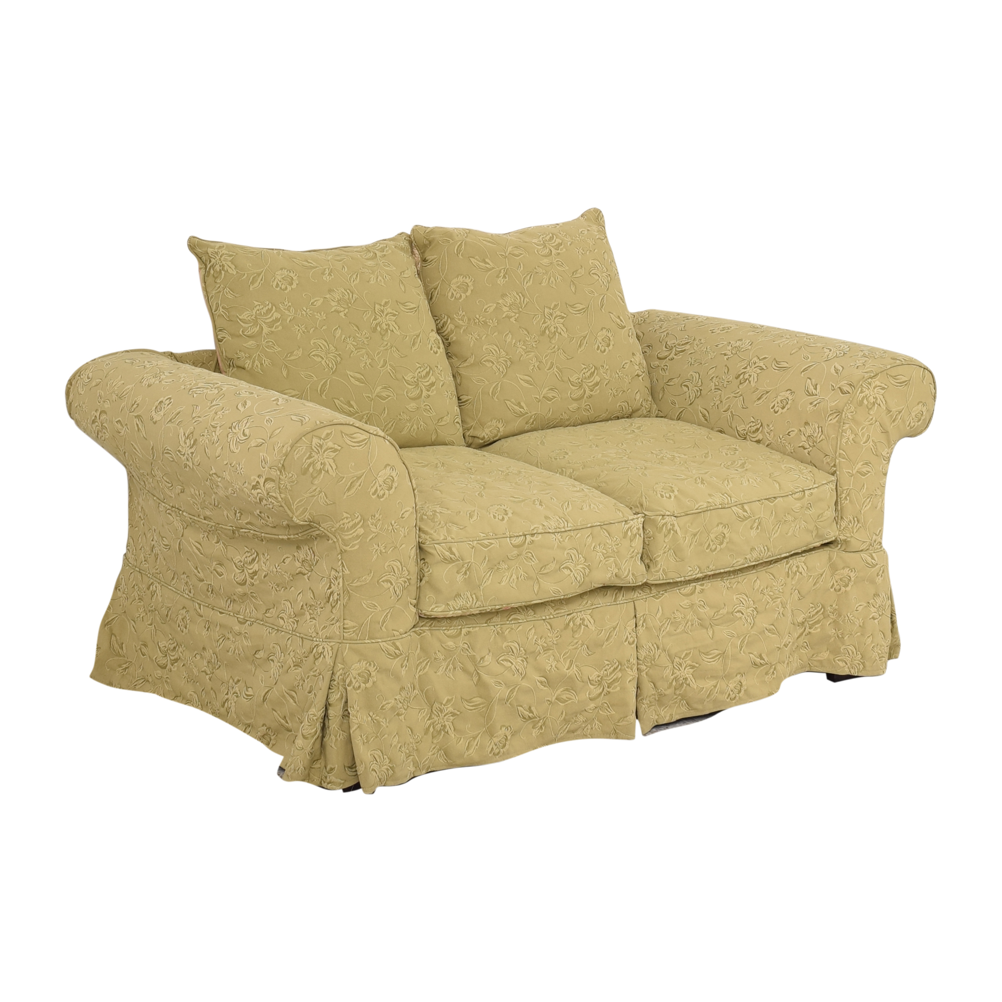 Domain Domain Roll Arm Loveseat for sale