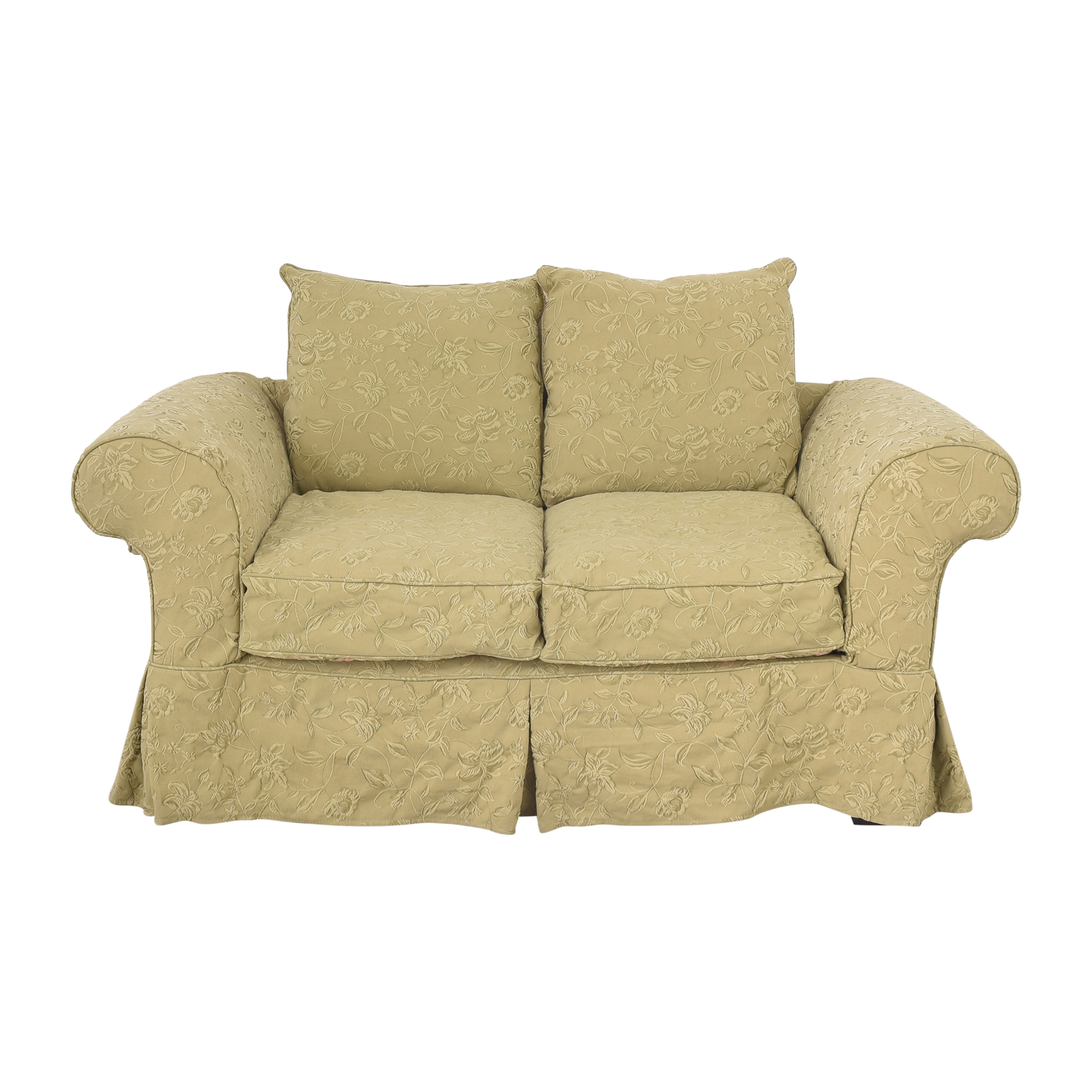 Domain Domain Roll Arm Loveseat used