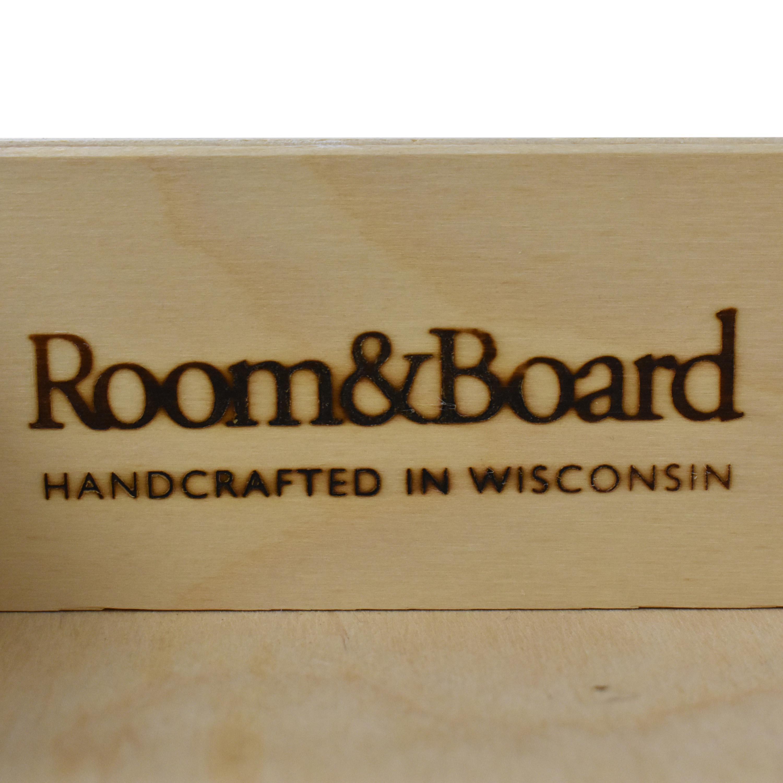 shop Room & Board Whitney One Drawer Nightstand Room & Board