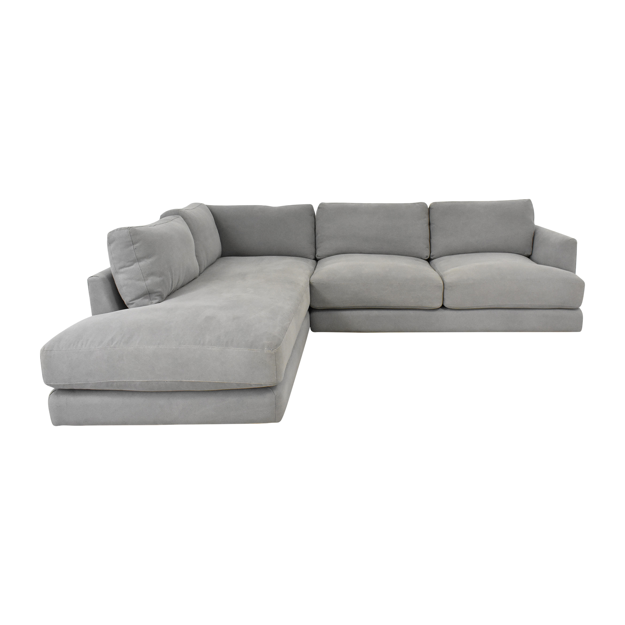 West Elm West Elm Haven Two Piece Terminal Chaise Sectional coupon