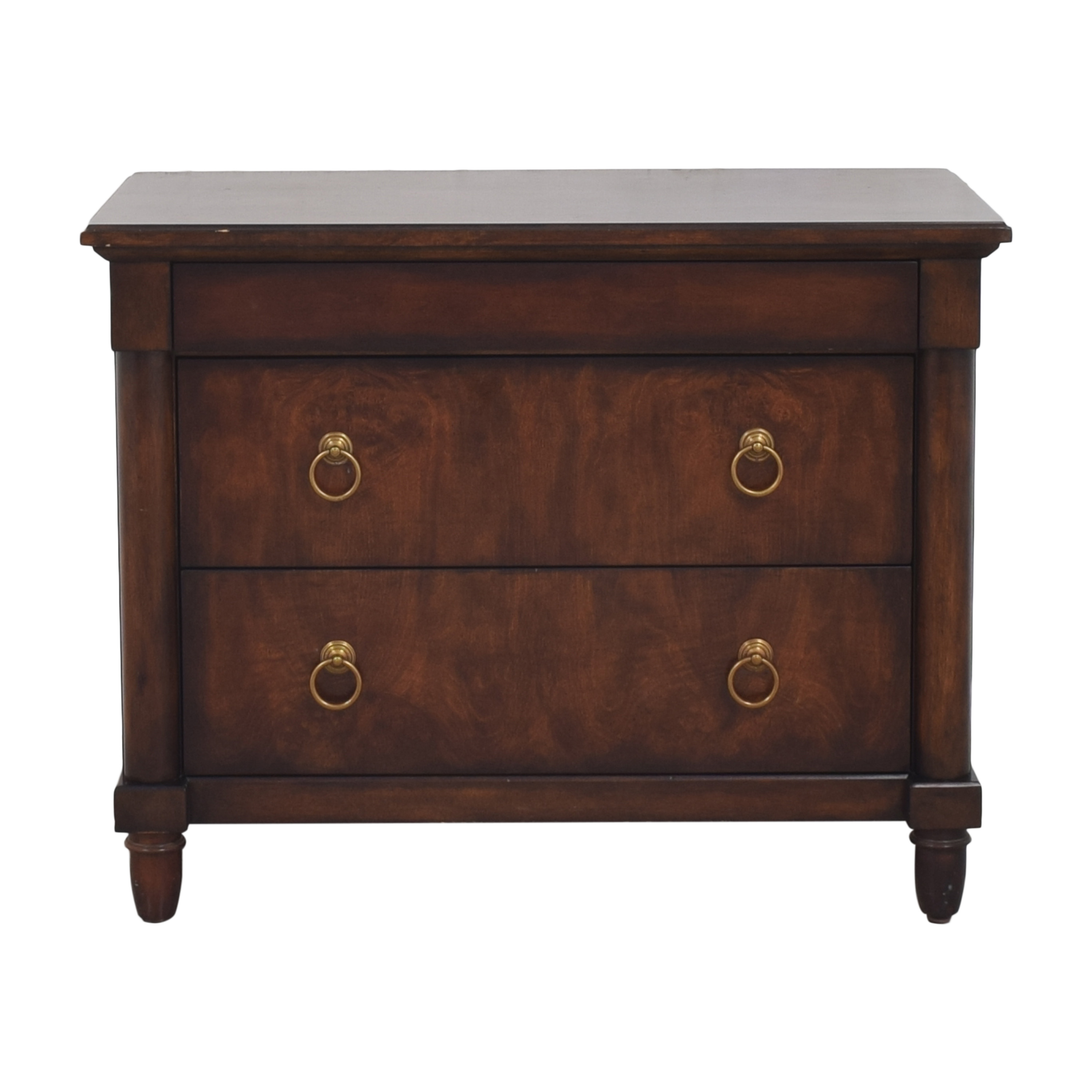 buy Bernhardt Bernhardt Market Street Three Drawer Nightstand online