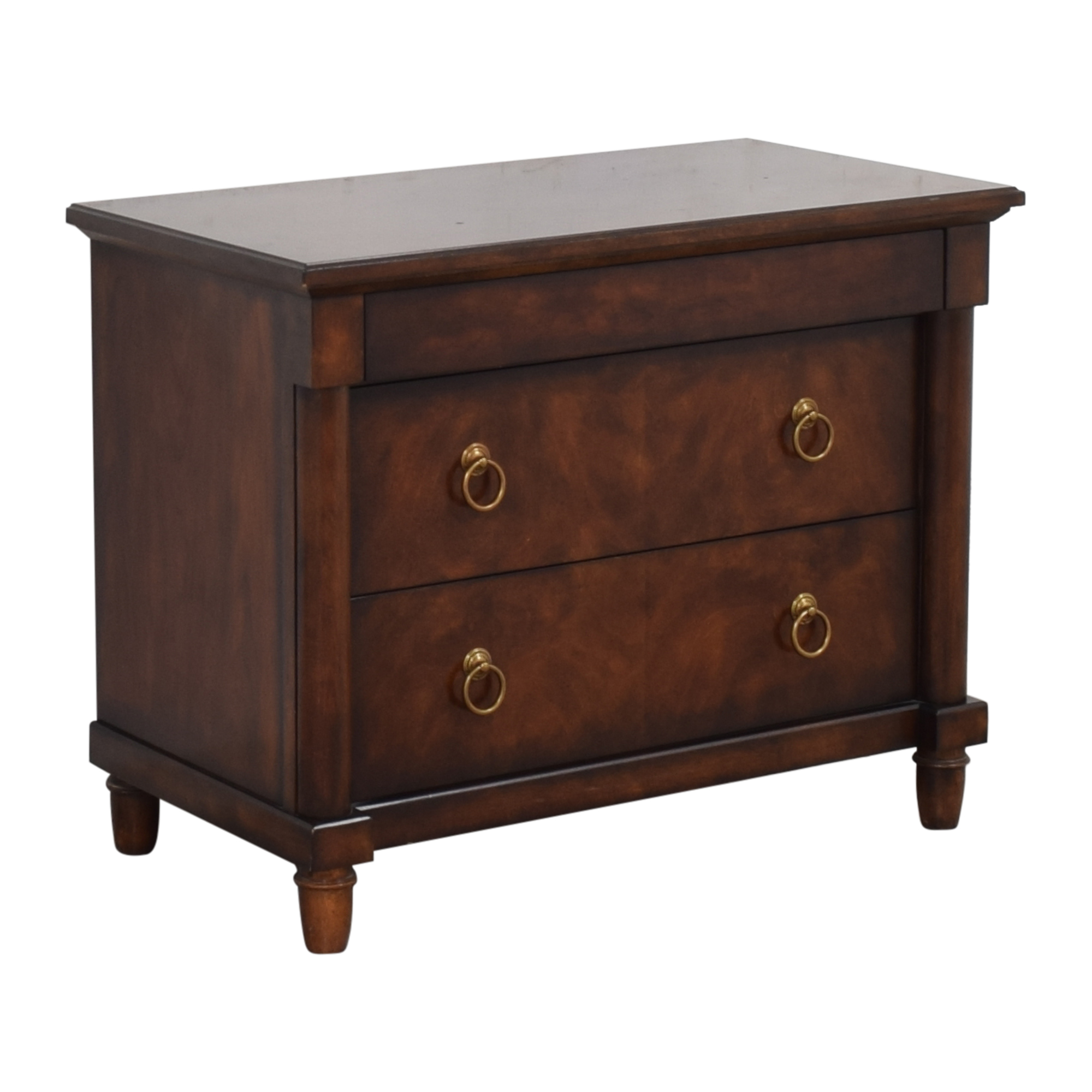 Bernhardt Bernhardt Market Street Three Drawer Nightstand End Tables