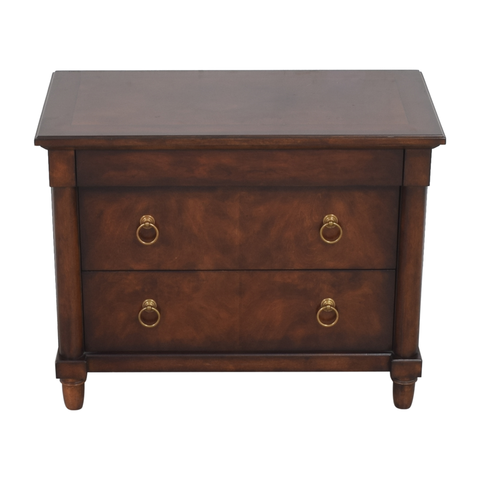 buy Bernhardt Market Street Three Drawer Nightstand Bernhardt End Tables