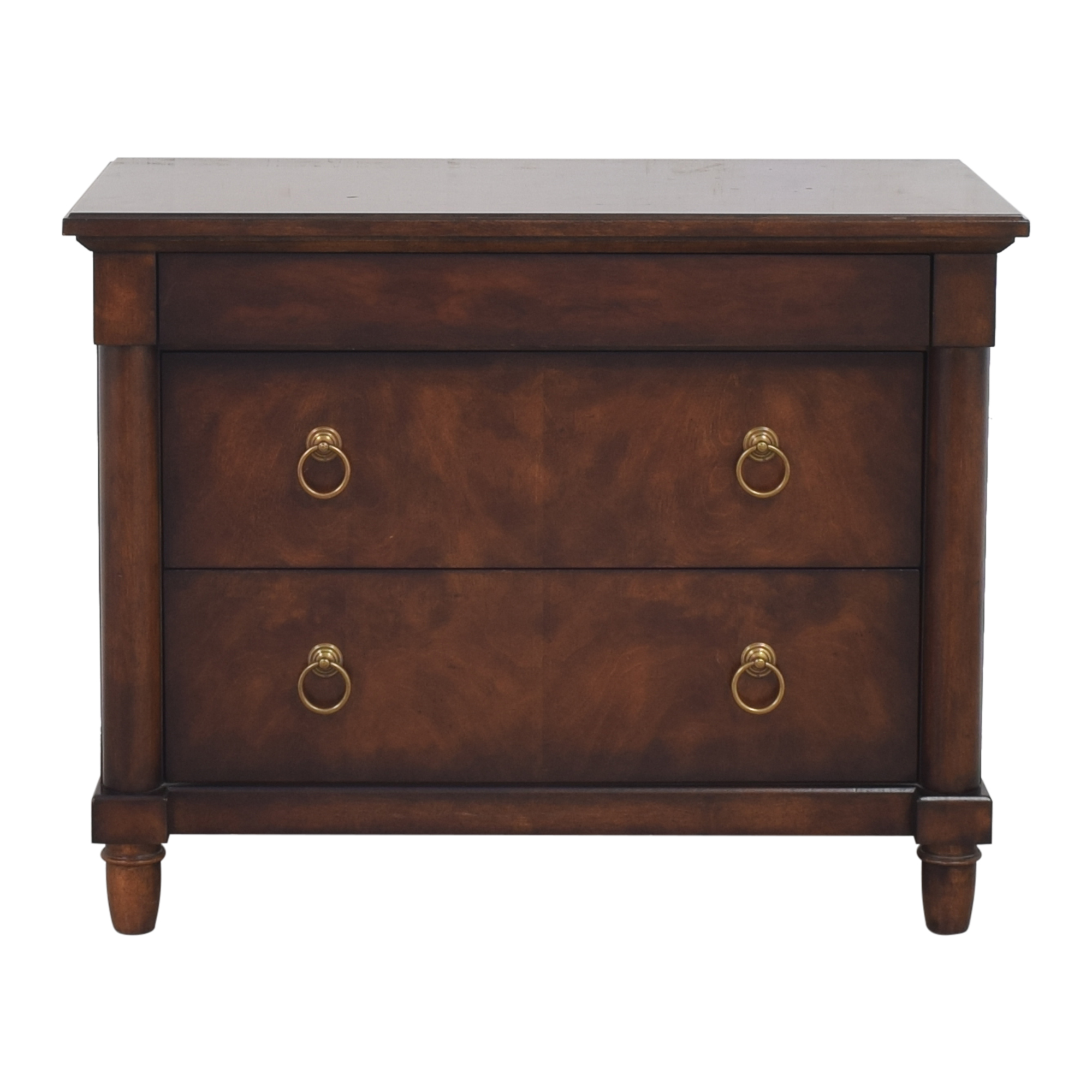 Bernhardt Bernhardt Market Street Three Drawer Nightstand pa