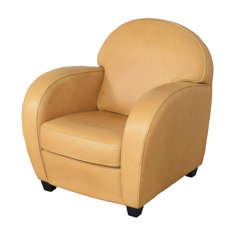 Natuzzi Natuzzi Accent Chair with Ottoman price
