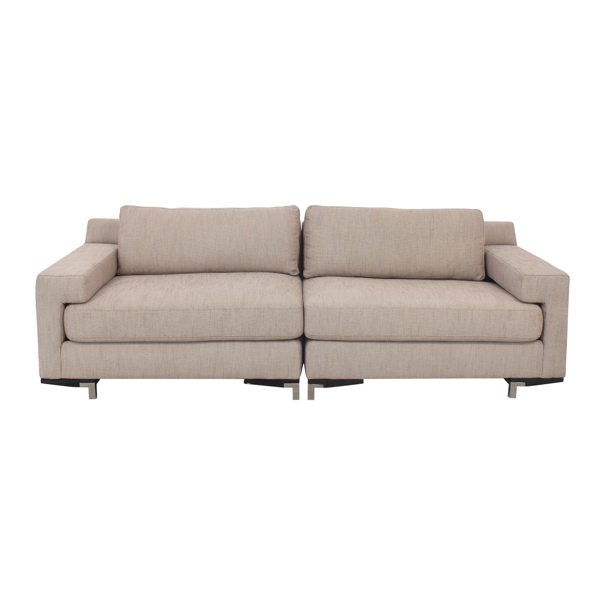 buy Caracole Two Piece Sectional Sofa Caracole Sofas