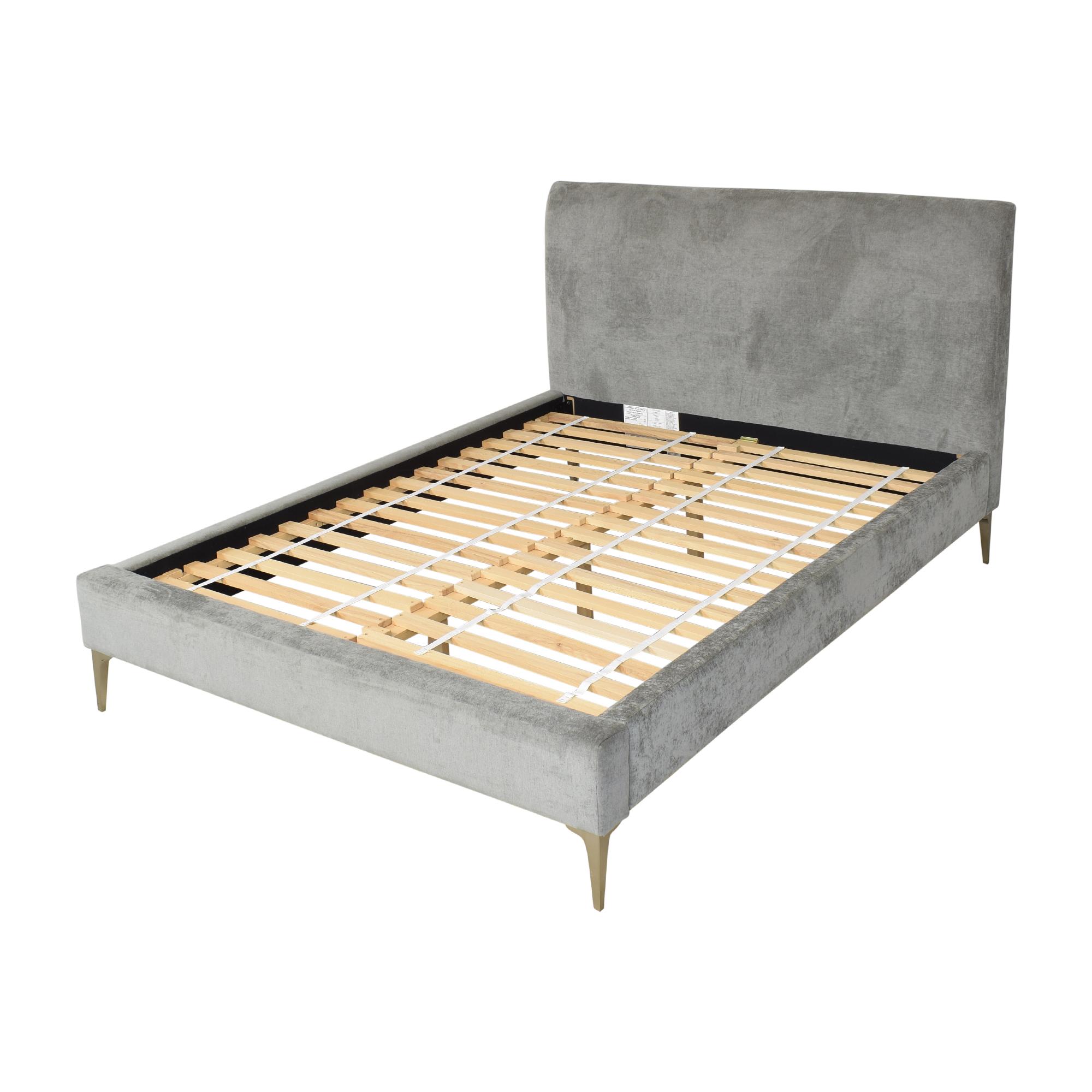 West Elm West Elm Andes Deco Upholstered Queen Bed