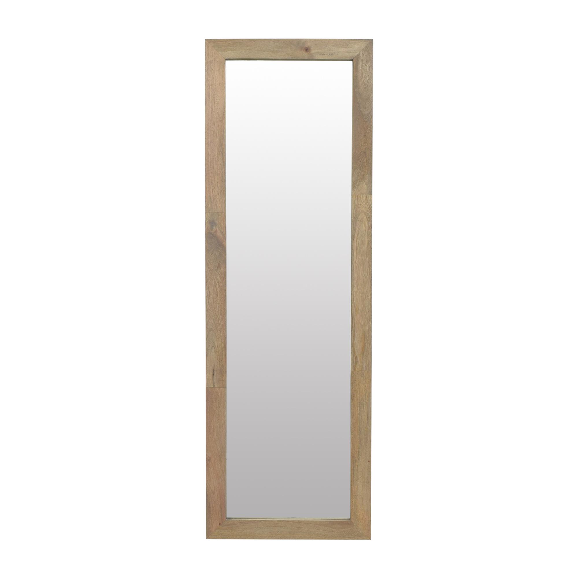 West Elm Framed Floor Mirror / Mirrors