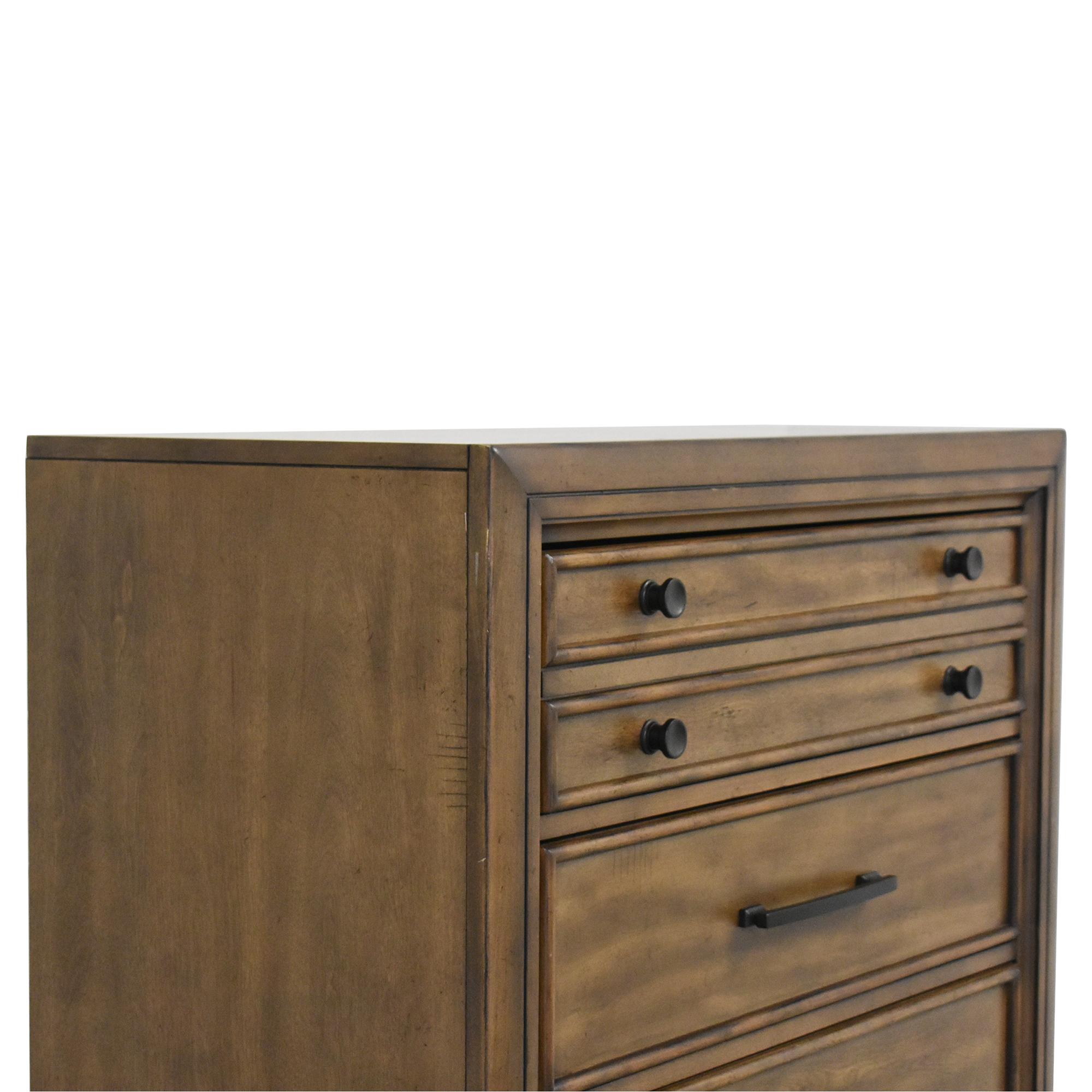 shop Lane Urban Charm Five Drawer Chest Lane Furniture Cabinets & Sideboards