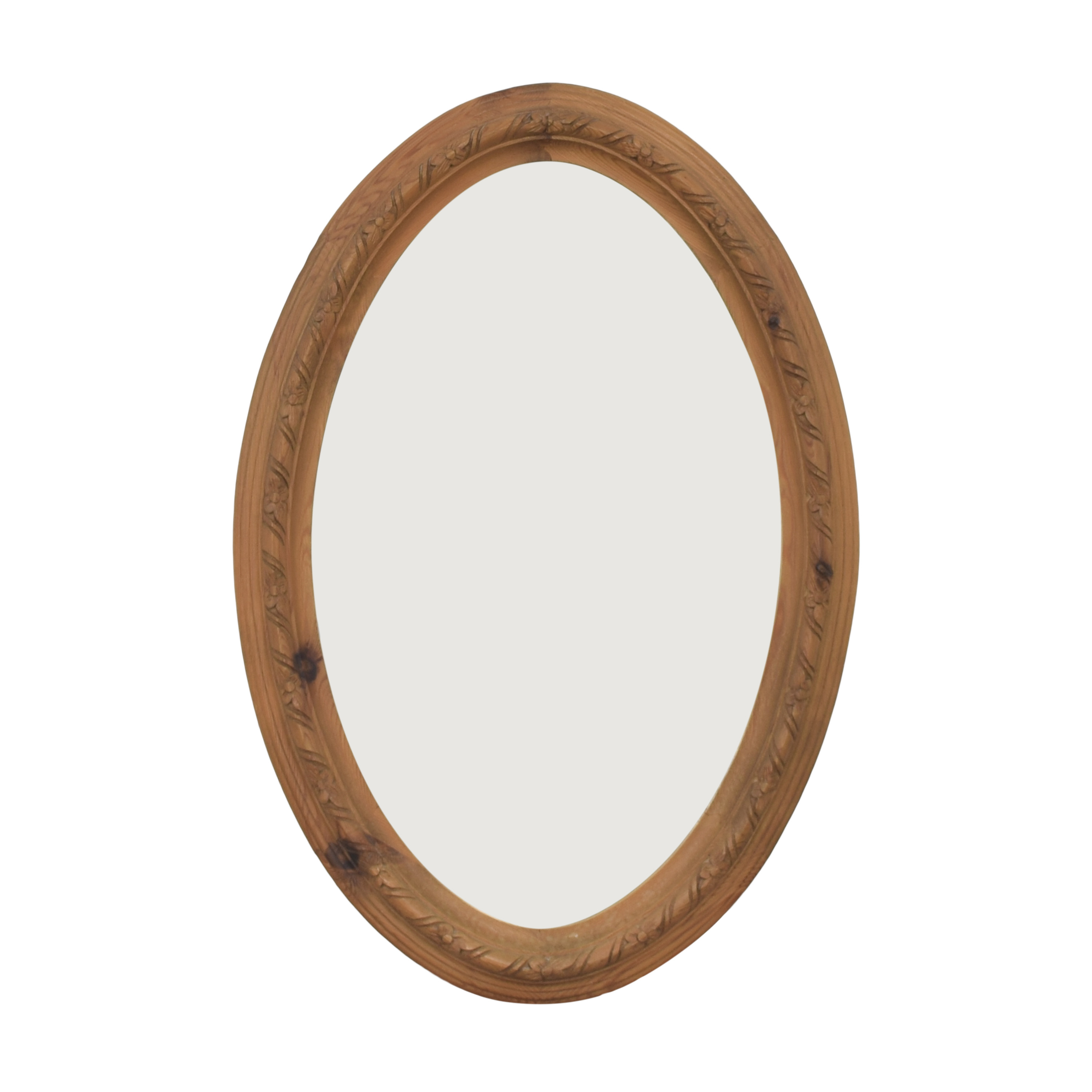 ABC Carpet & Home Oval Decorative Mirror / Decor