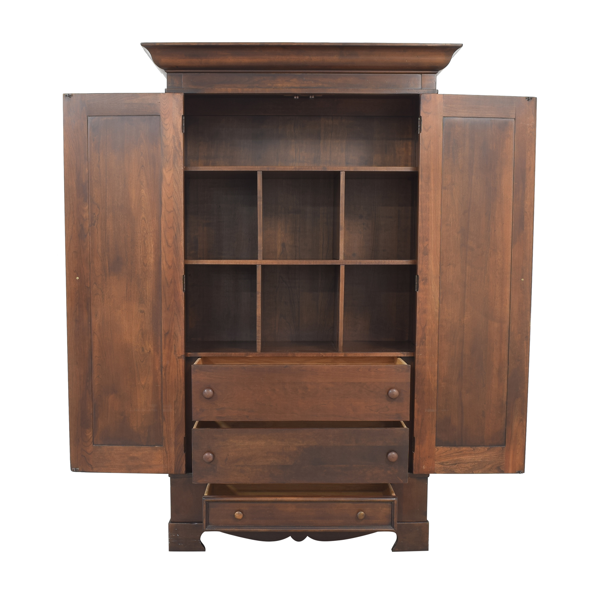 Traditional Armoire with Drawers Wardrobes & Armoires