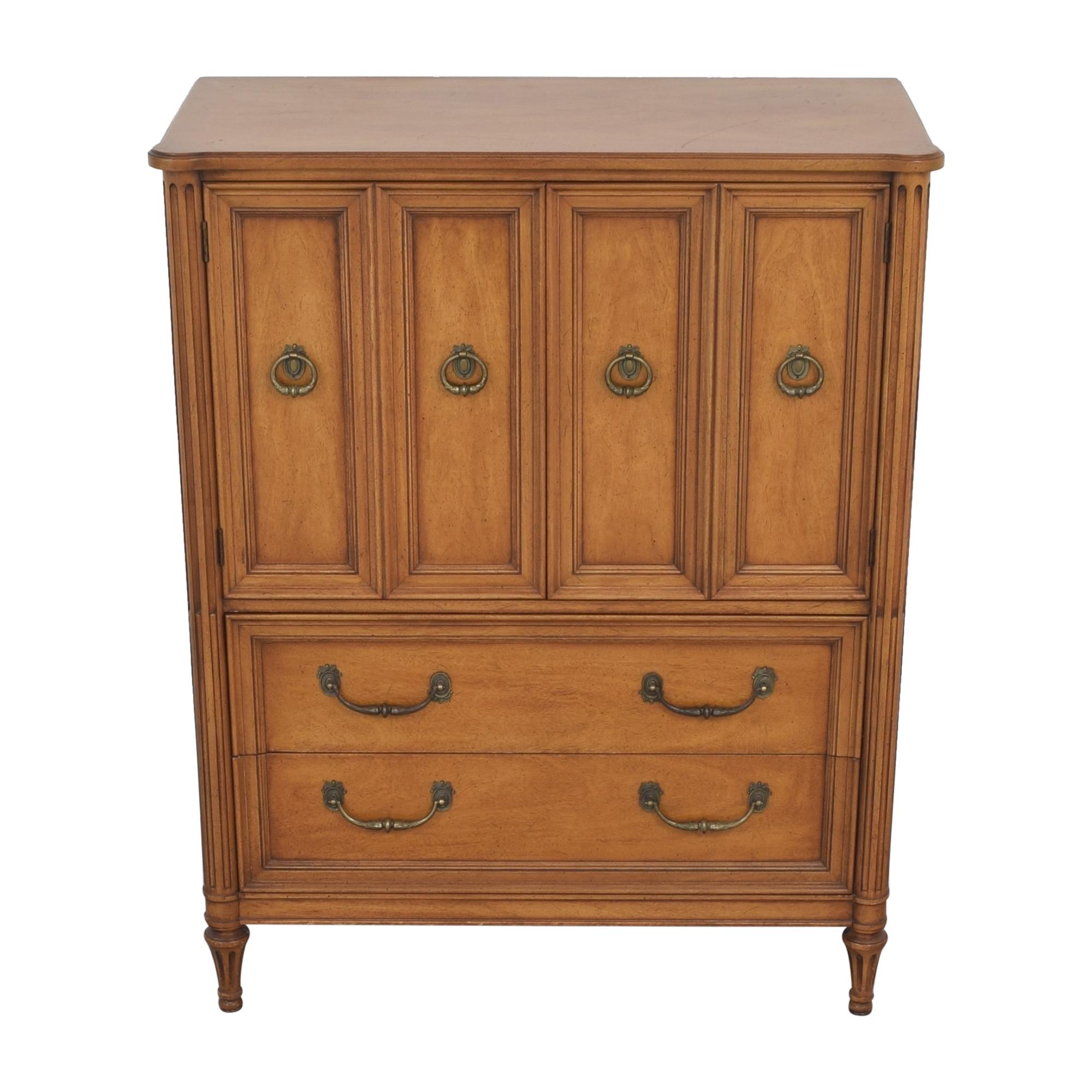 shop Henredon Furniture Two Door Armoire Henredon Furniture