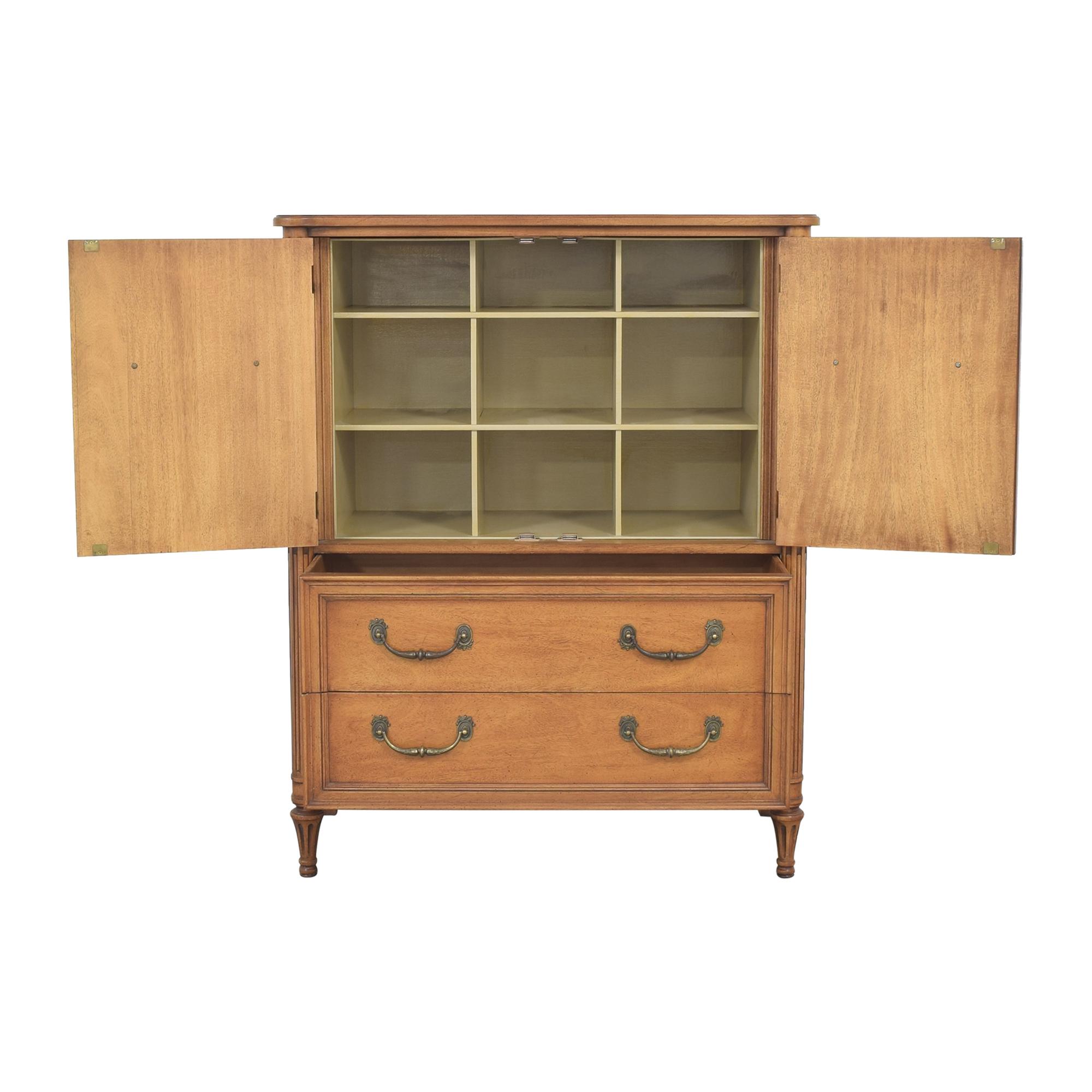 Henredon Furniture Henredon Furniture Two Door Armoire ct