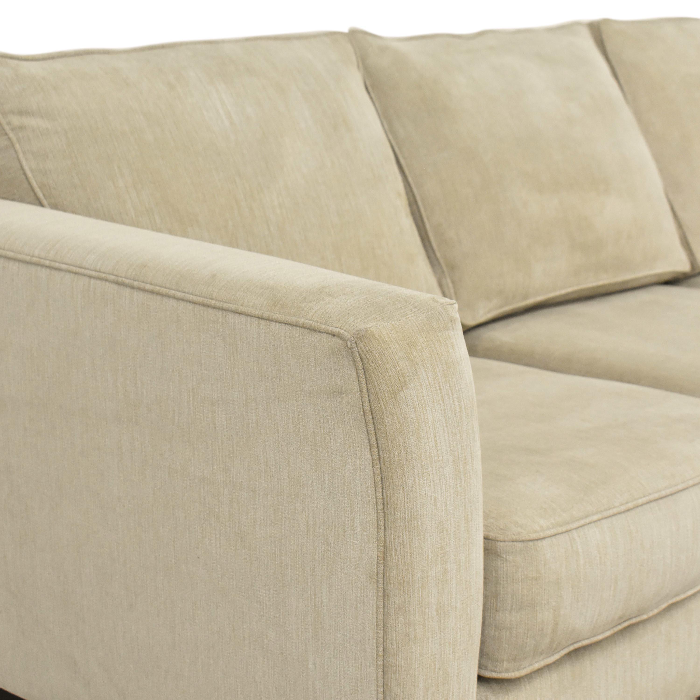 Havertys Three Cushion Sofa / Sofas
