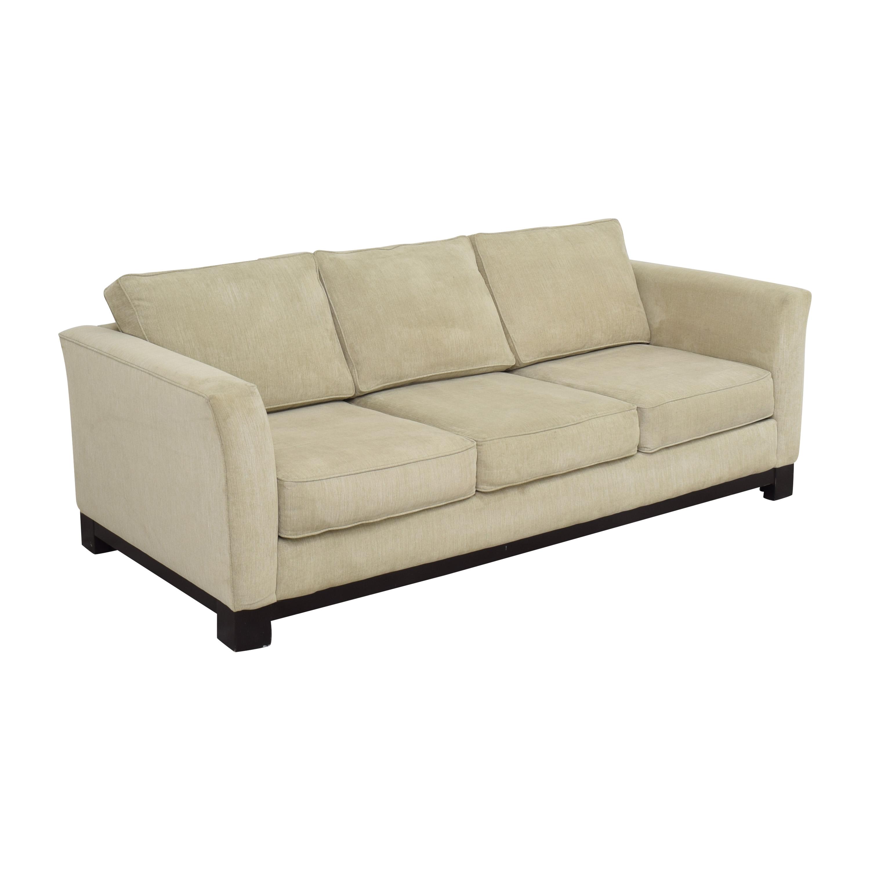 shop Havertys Three Cushion Sofa Havertys Classic Sofas